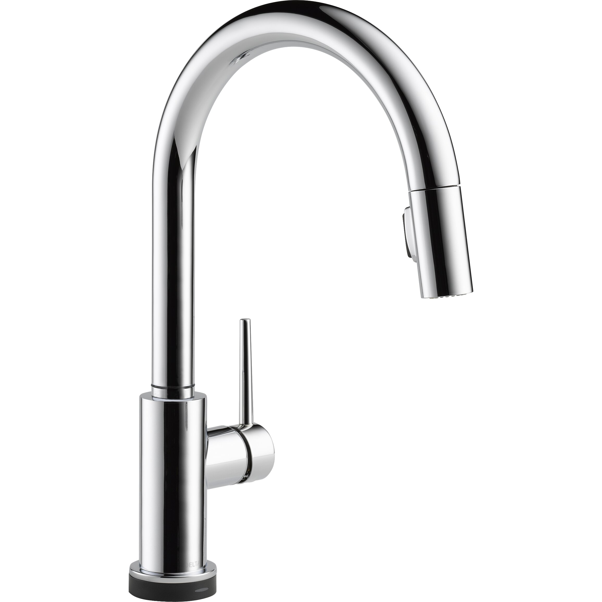 Reviews Kitchen Faucets Delta Trinsicr Kitchen Single Handle Pull Down Standard Kitchen