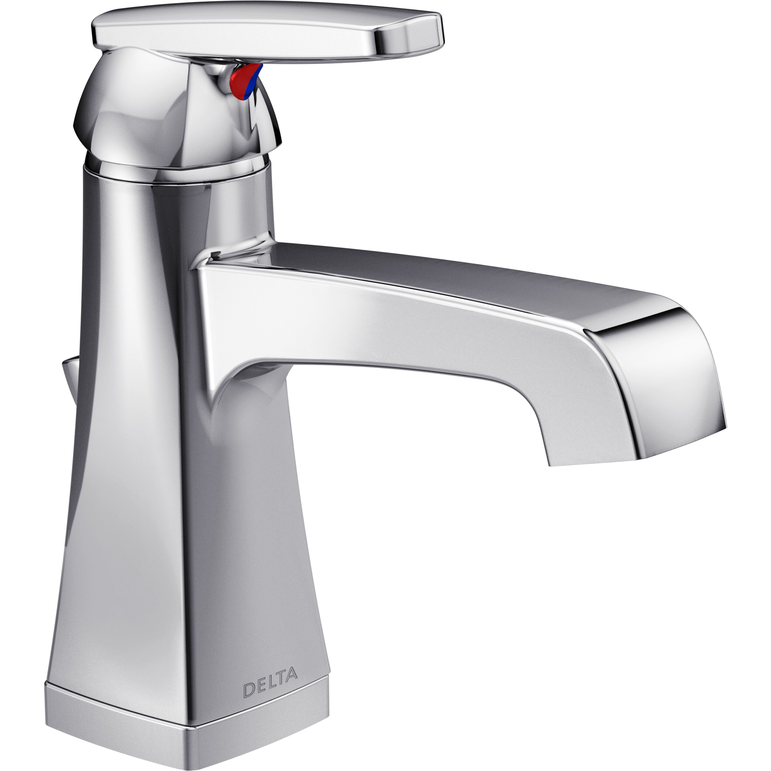Delta Ashlyn Standard Bathroom Faucet Lever Handle With Drain Assembly Reviews Wayfair