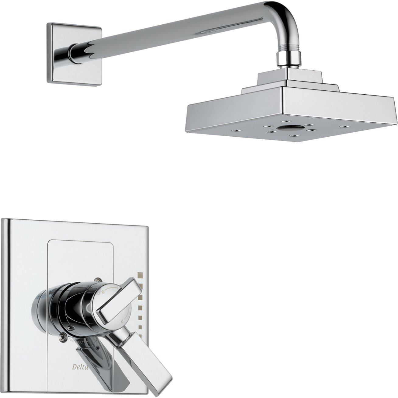 Delta Urban - Arzo Shower Faucet Trim with Lever Handles & Reviews ... - Delta Urban - Arzo Shower Faucet Trim with Lever Handles