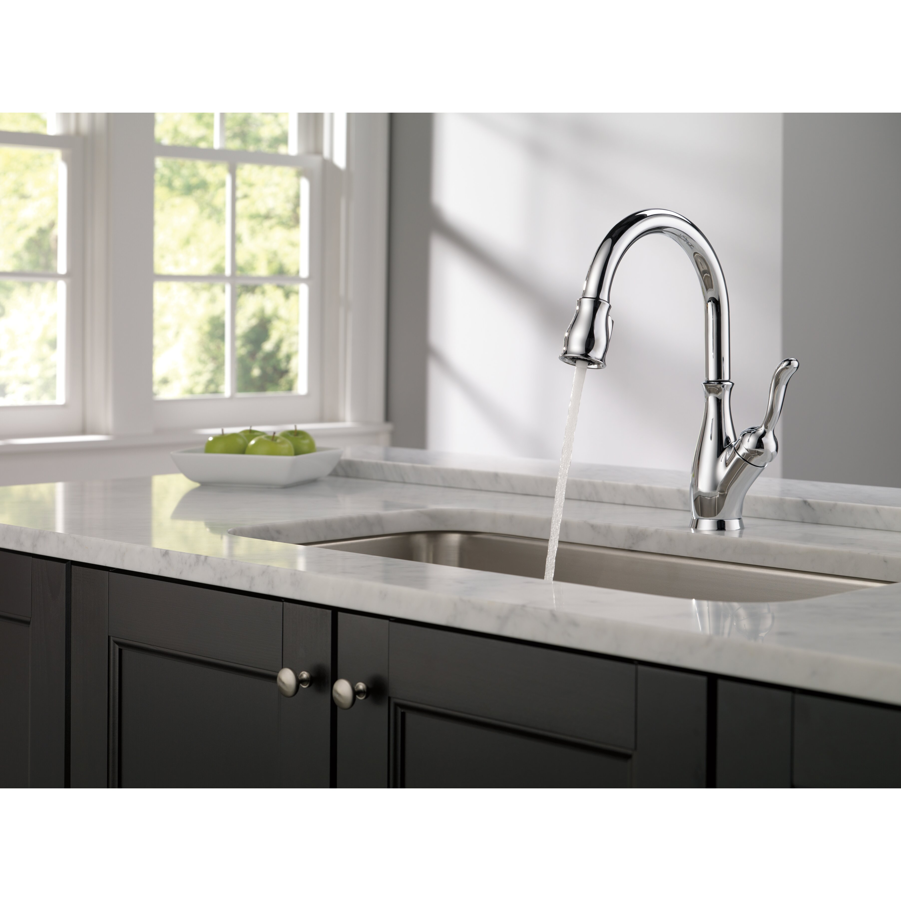 delta faucet foundations standard kitchen faucet with side delta faucets leland bath collection 24 inch towel bar polished