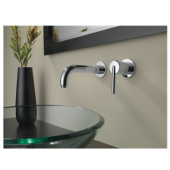 Delta Trinsic amp reg  Bathroom Faucet Trim Single Handle. Delta Trinsic  Bathroom Faucet Trim Single Handle  amp  Reviews   Wayfair