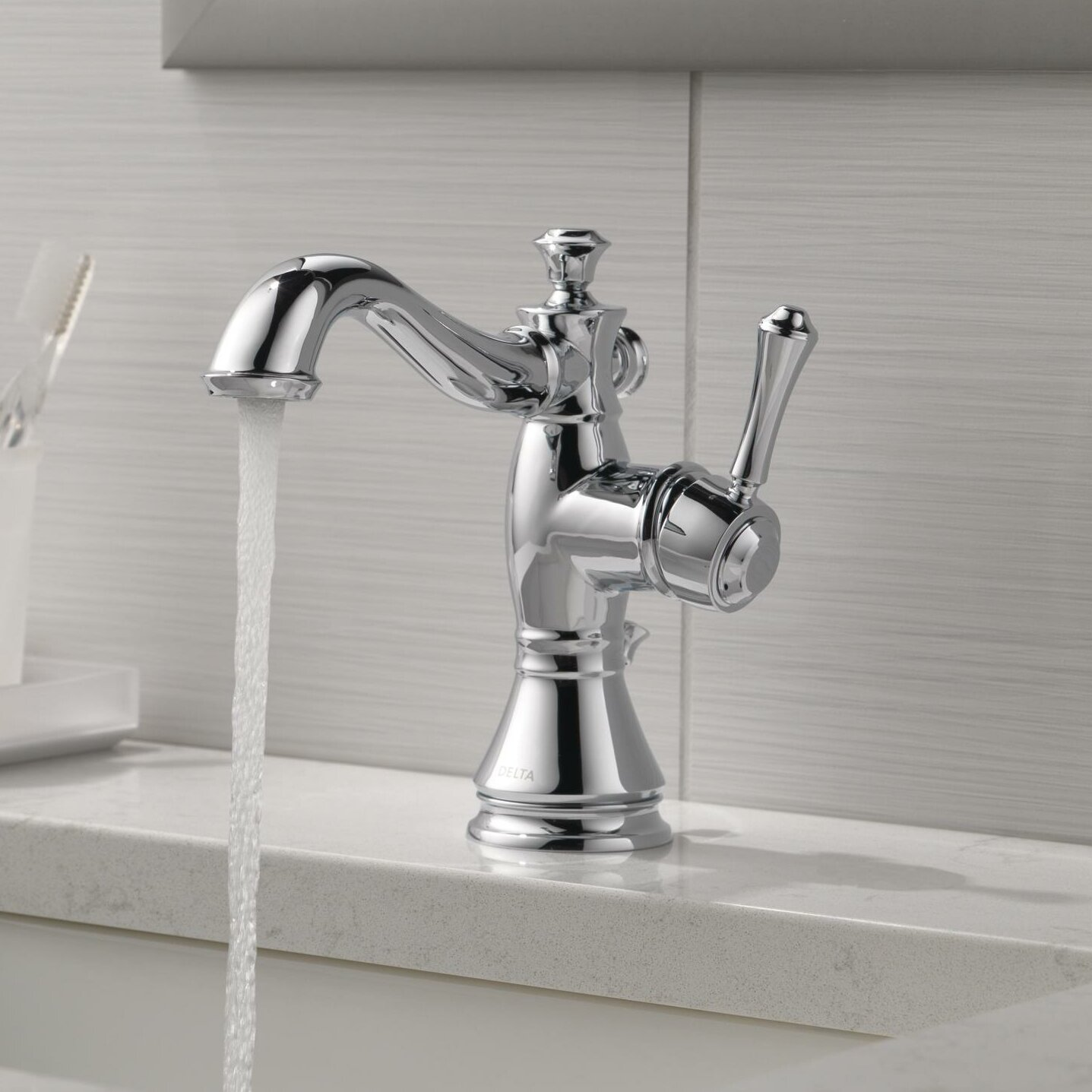handle bathroom faucets photos single handle with top shop delta