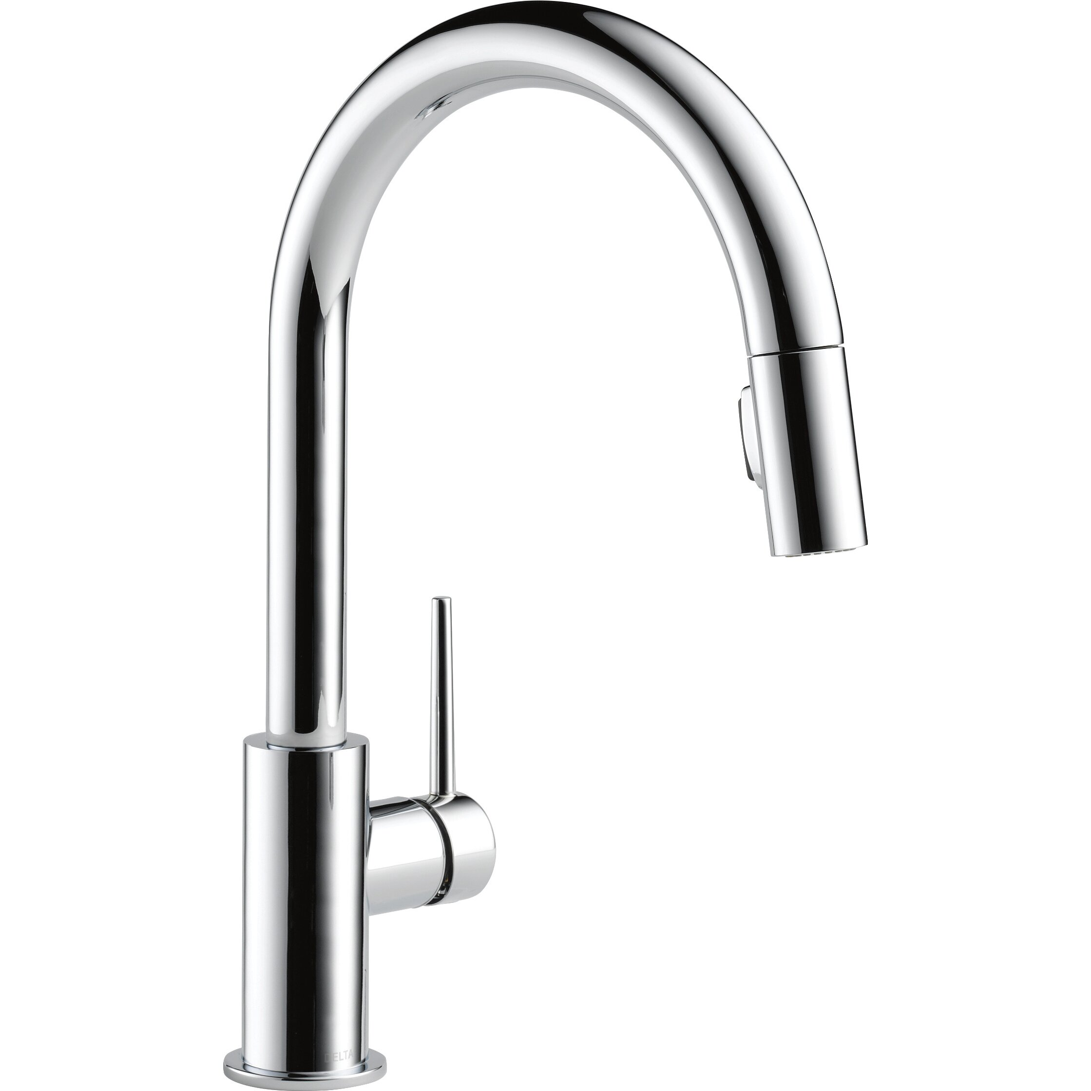 Leland Delta Kitchen Faucet Delta Trinsicar Kitchen 15 Single Handle Pull Down Standard
