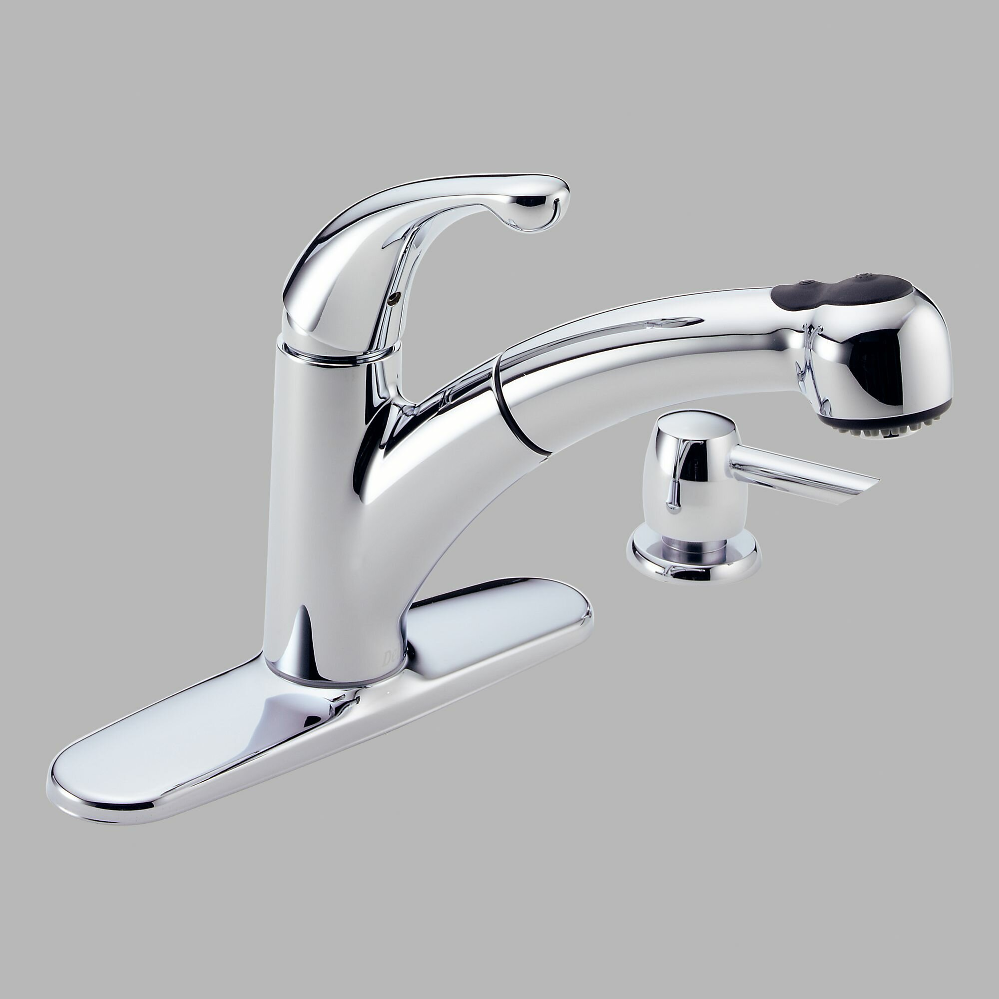 Delta Classic Kitchen Faucet Delta Palo Single Handle Centerset Kitchen Faucet Reviews Wayfair