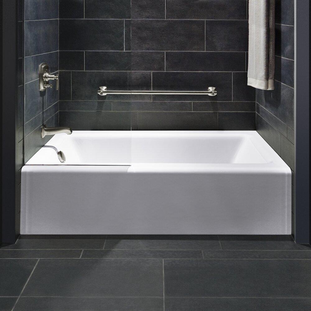 "Kohler Bellwether Alcove 60"" X 32"" Soaking Bathtub"
