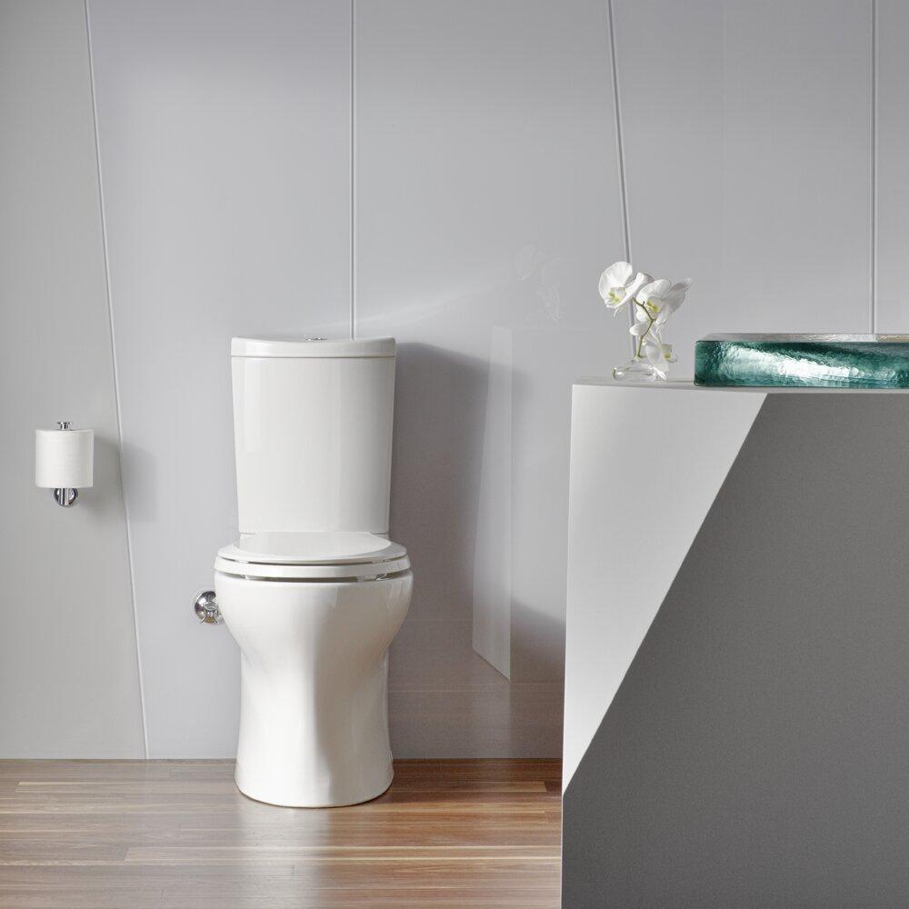 Kohler Toilets Reviews : Kohler Persuade Comfort Height 2 Piece 1.6 GPF Elongated Toilet ...