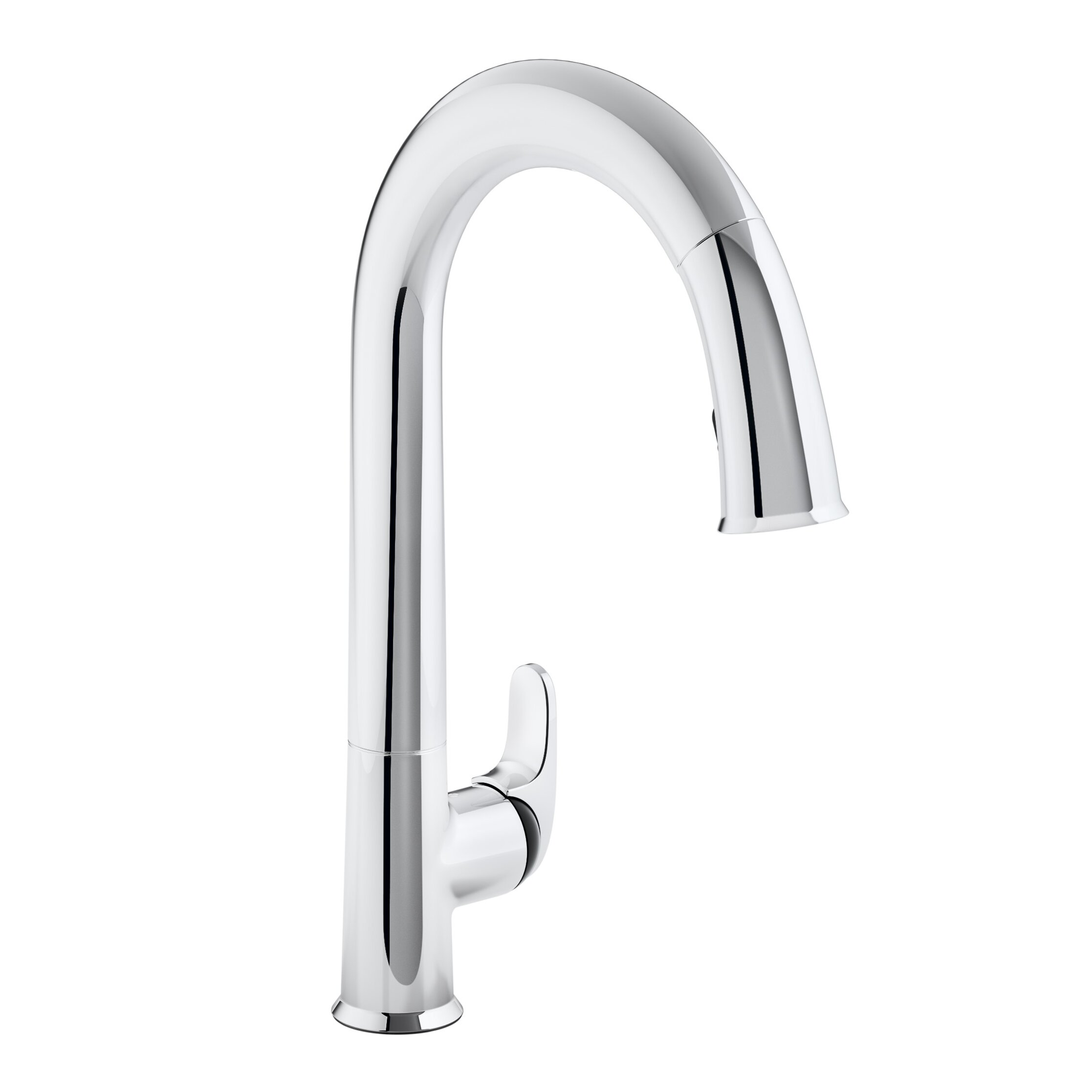 Moen Touchless Kitchen Faucet Kohler Sensate Touchless Kitchen Faucet With 15 1 2 Pull Down