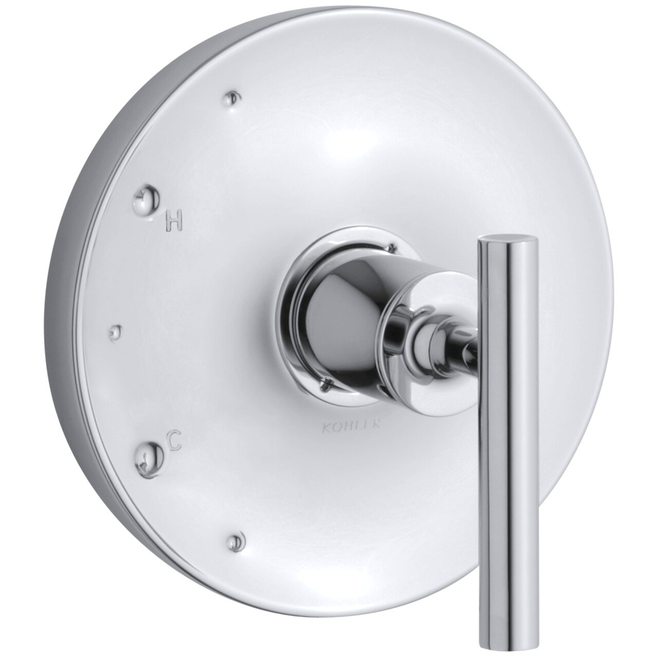 kohler purist valve trim lever handle for rite temp pressure kohler purist valve trim lever handle for rite temp pressure balancing valve