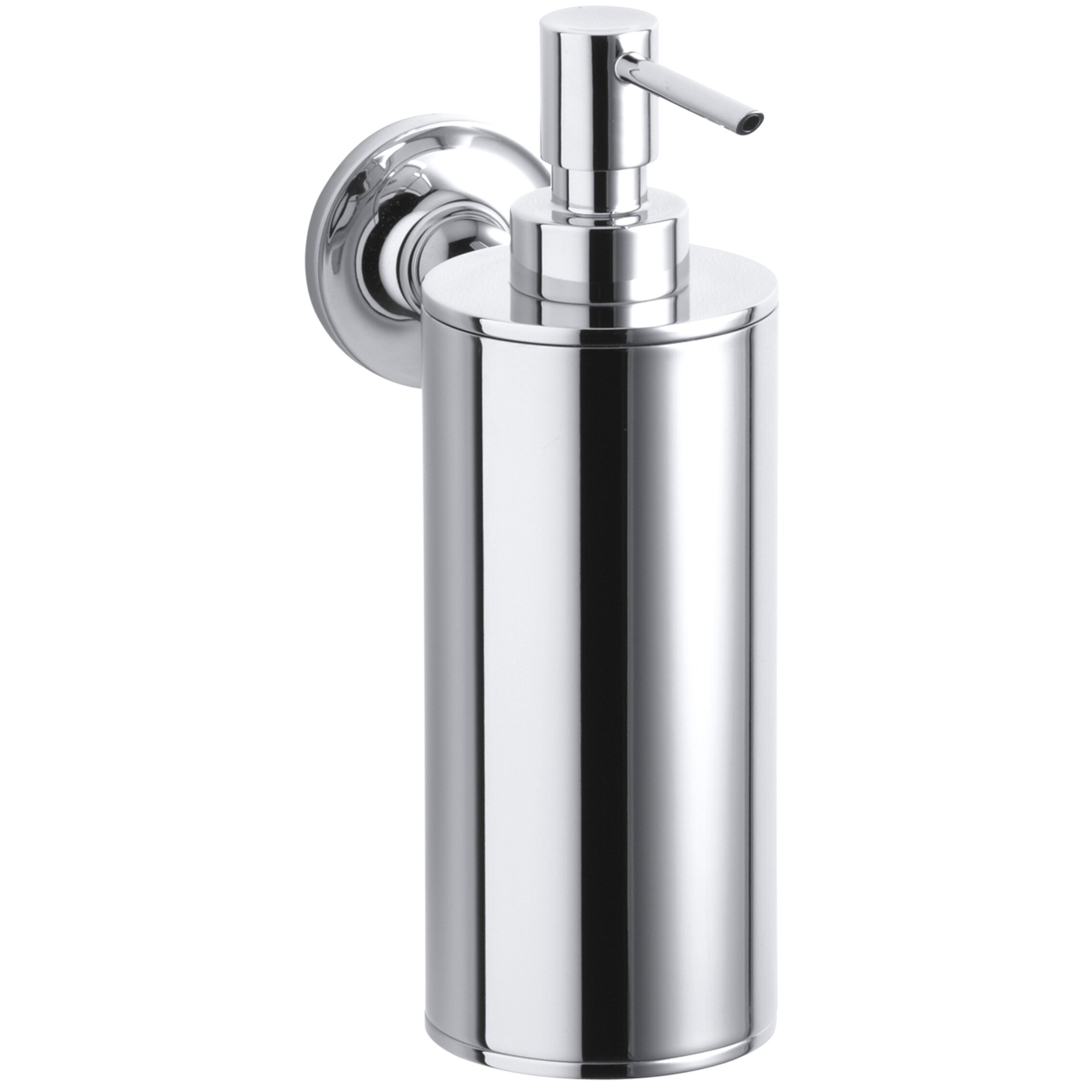 Wall Mounted Dispenser ~ Kohler purist wall mount soap dispenser reviews wayfair
