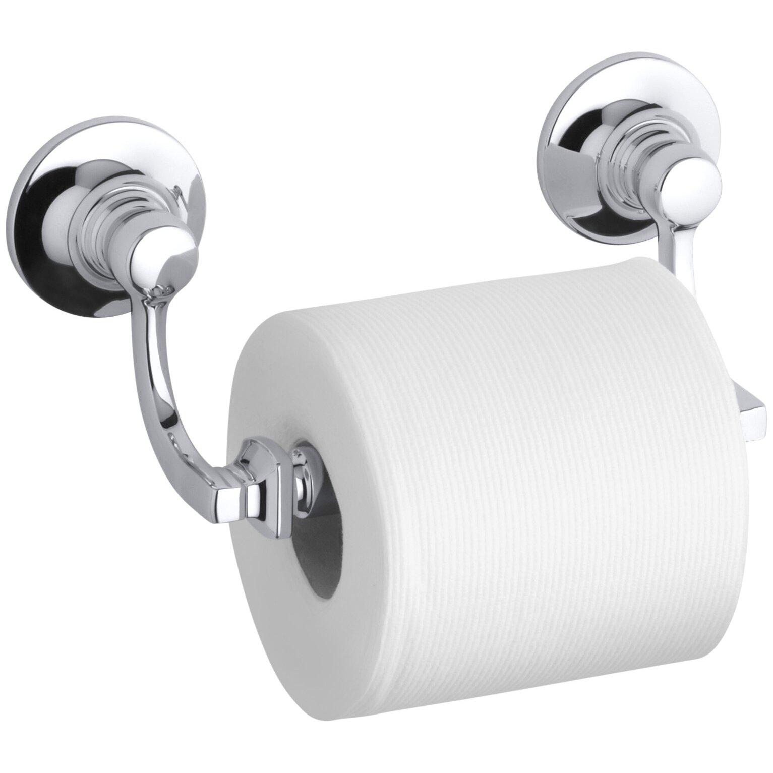 Kohler Bancroft Toilet Tissue Holder. Kohler Bancroft Toilet Tissue Holder   Reviews   Wayfair