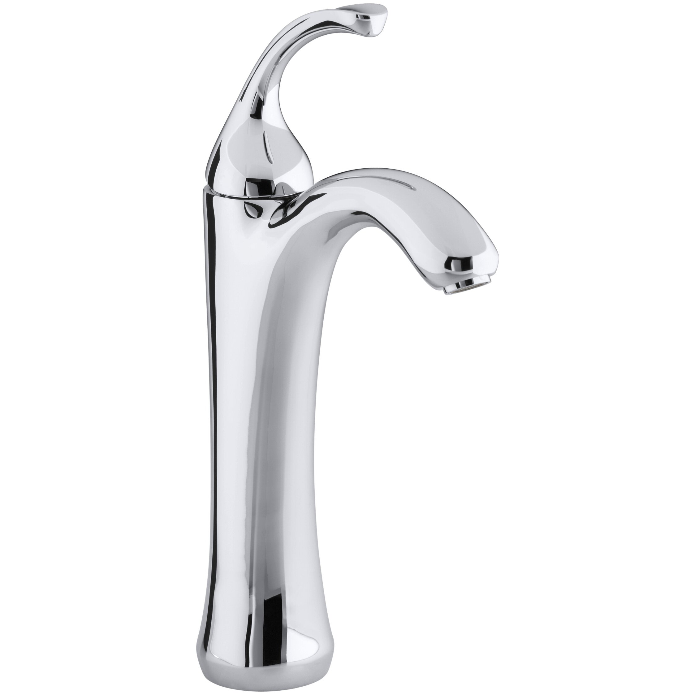 kohler fort tall single hole bathroom sink faucet with