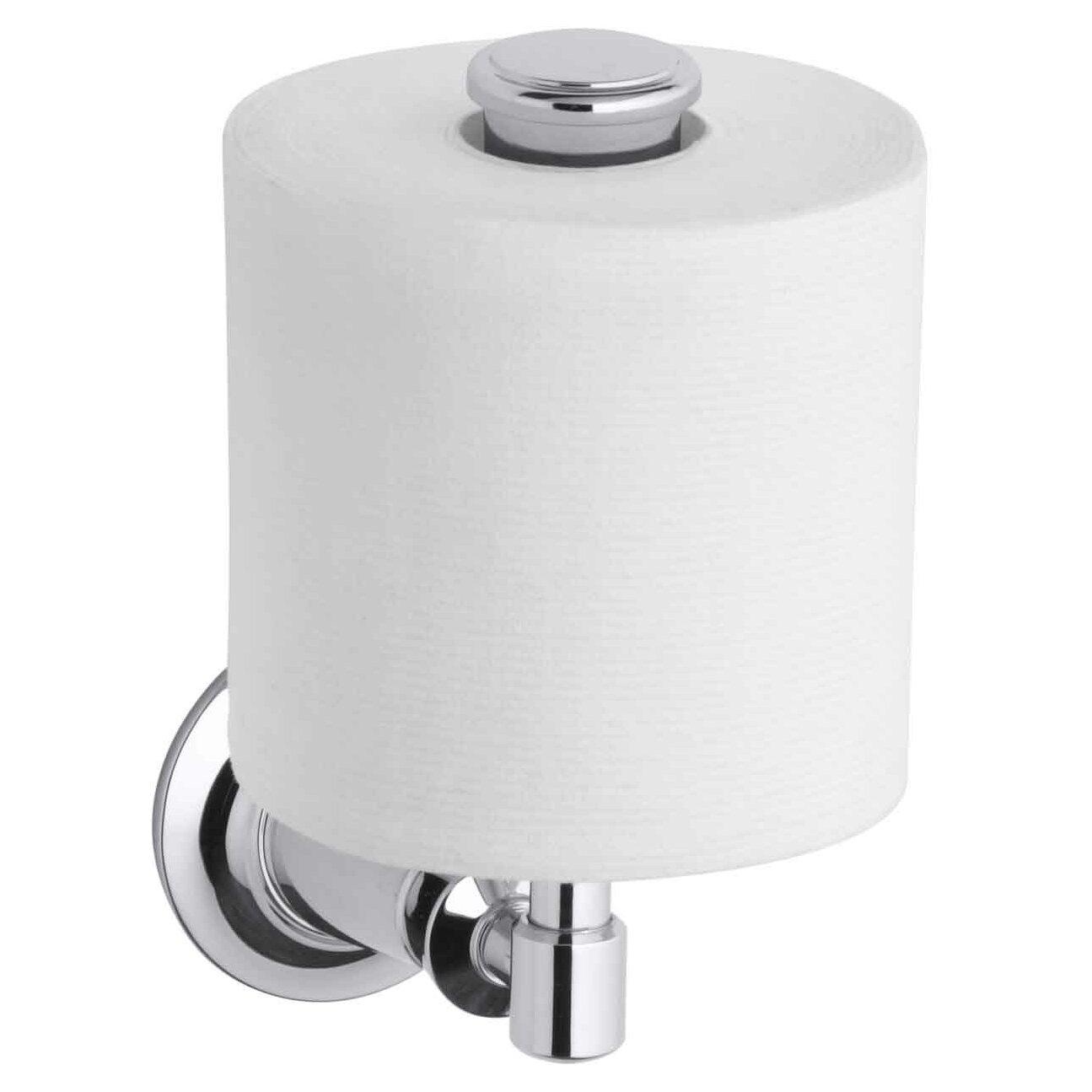 Kohler Archer Vertical Toilet Tissue Holder. Kohler Archer Vertical Toilet Tissue Holder   Reviews   Wayfair