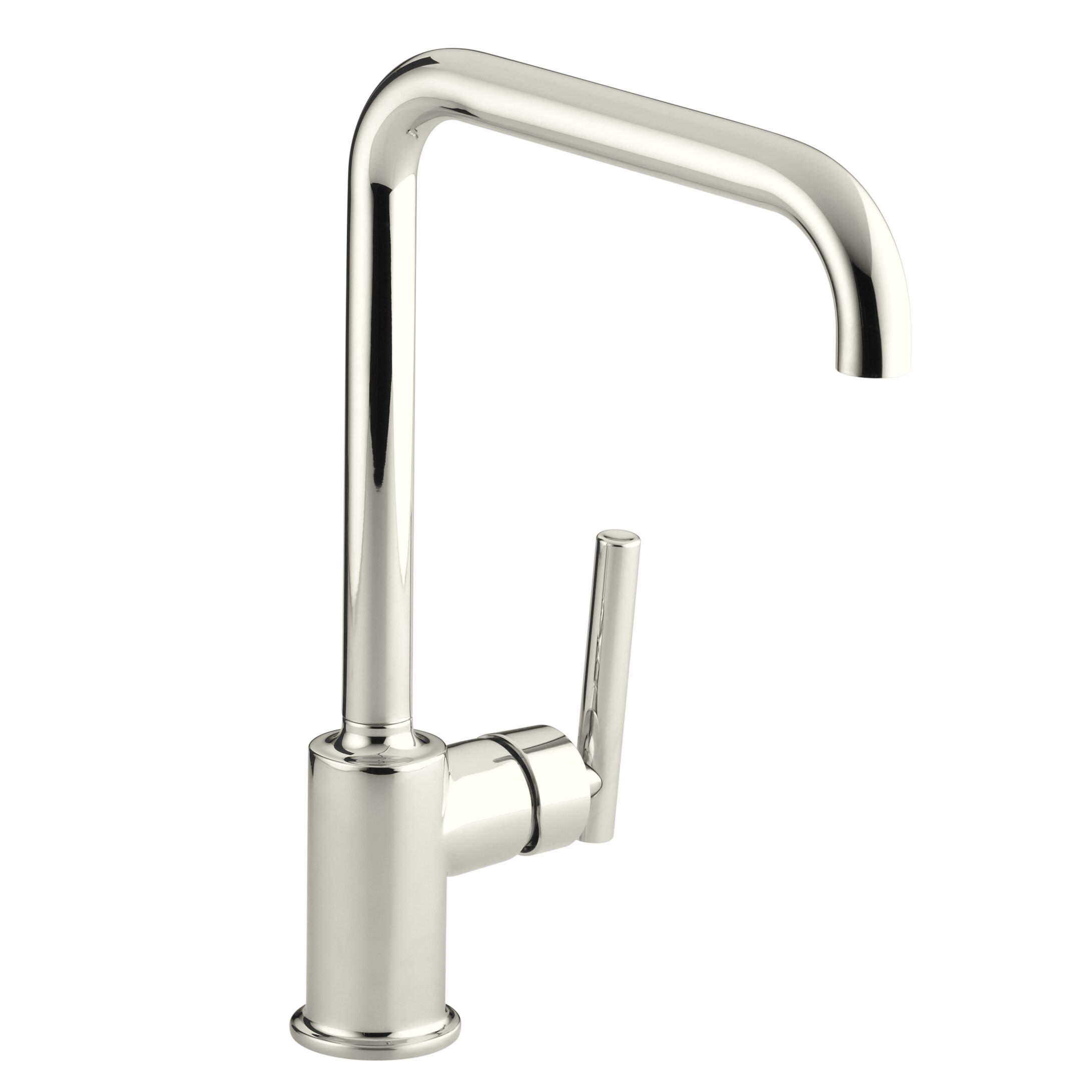 Articulating Kitchen Faucet Kohler Purist Single Hole Kitchen Sink Faucet With 8 Spout