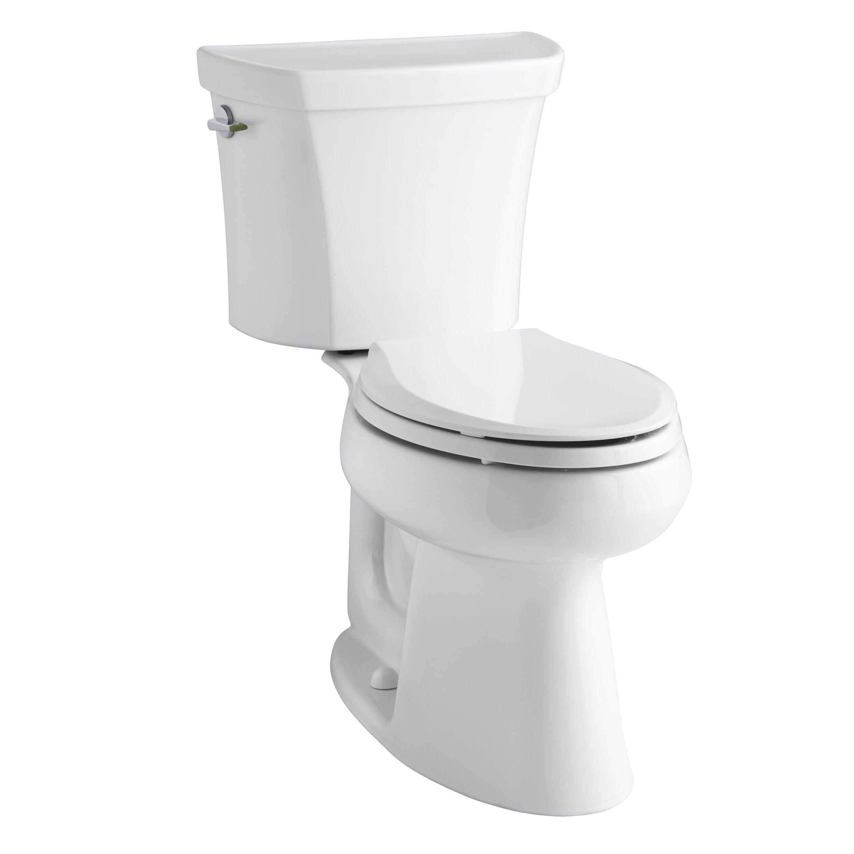 Kohler Toilets Reviews : Kohler Highline Comfort Height Dual Flush Elongated Two-Piece Toilet ...