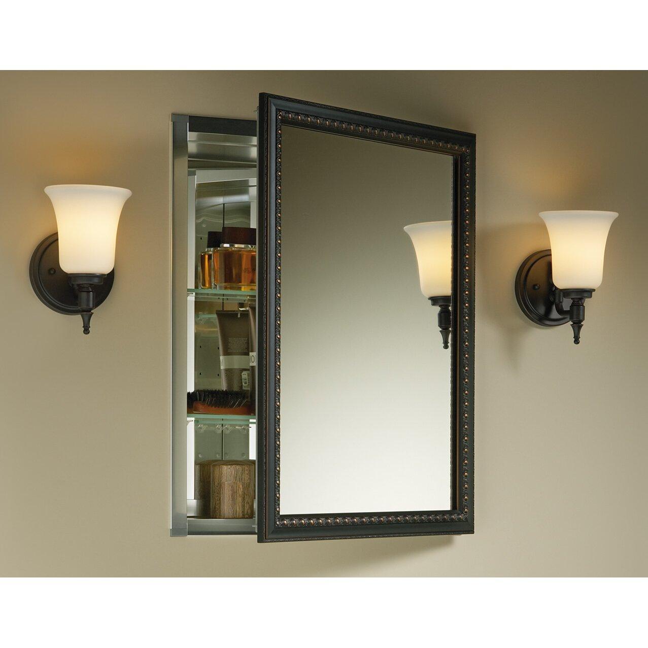 Kohler 20 X 26 Wall Mount Mirrored Medicine Cabinet .