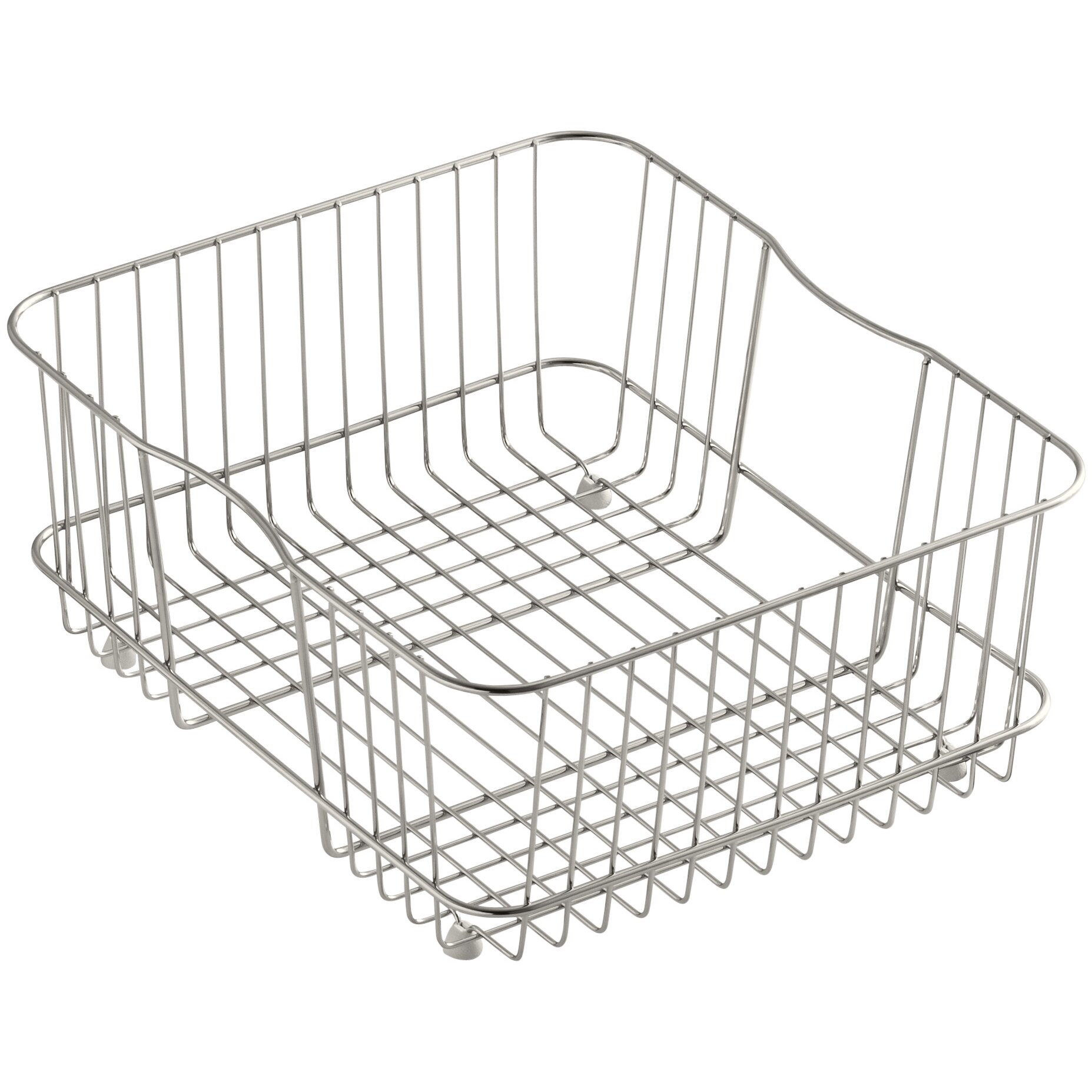 Kitchen Basket Kohler Coated Sink Basket For Undertone And Iron Tones Kitchen