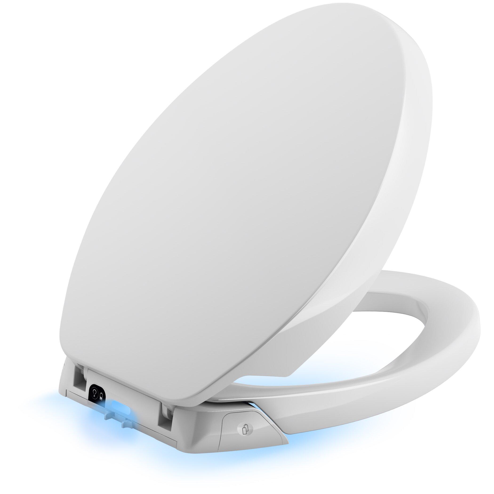 Kohler Purefresh Elongated Toilet Seat Amp Reviews Wayfair