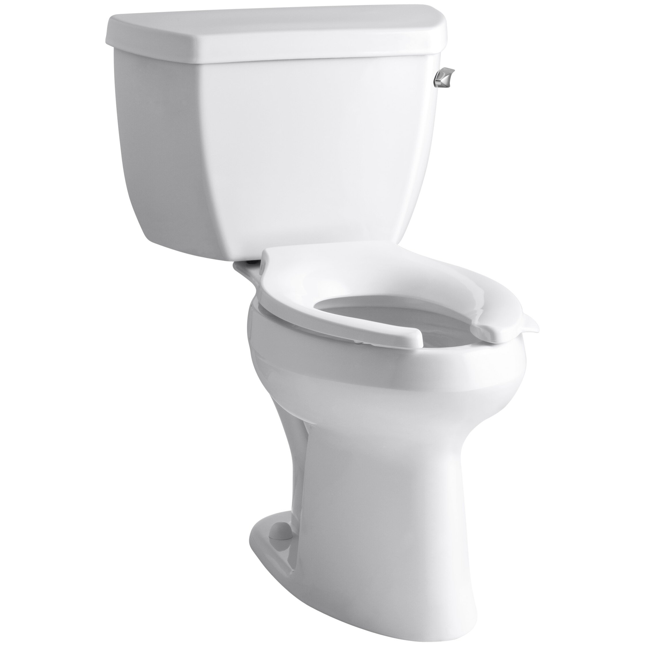 Toilet 10 inch rough in - Highline Classic Comfort Height Two Piece Elongated 1 6 Gpf Toilet With Pressure Lite Flush Techology