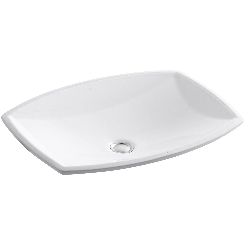 Kohler Kelston Undermount Bathroom Sink. Kohler Kelston Undermount Bathroom Sink   Reviews   Wayfair