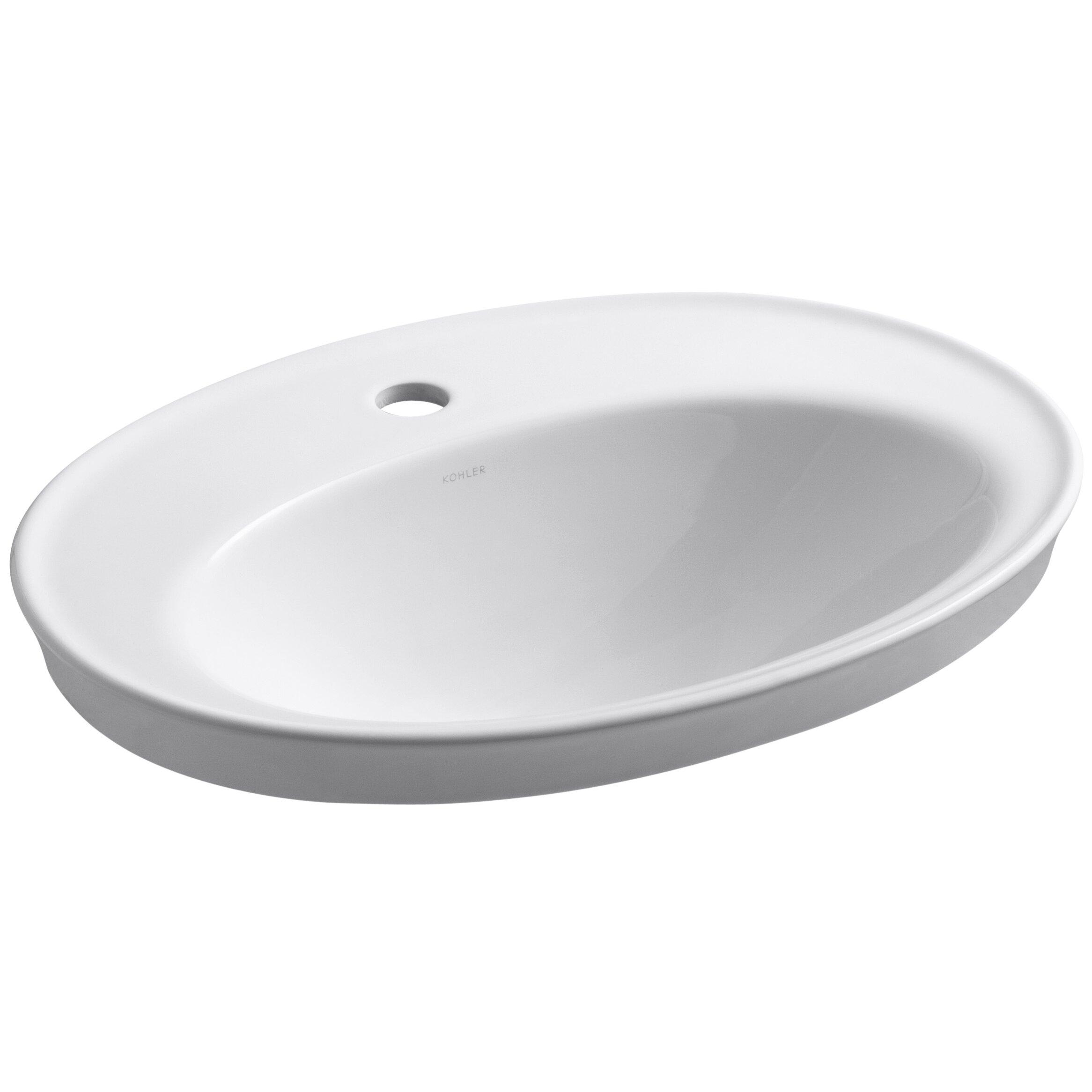 Kohler Serif Drop In Bathroom Sink & Reviews