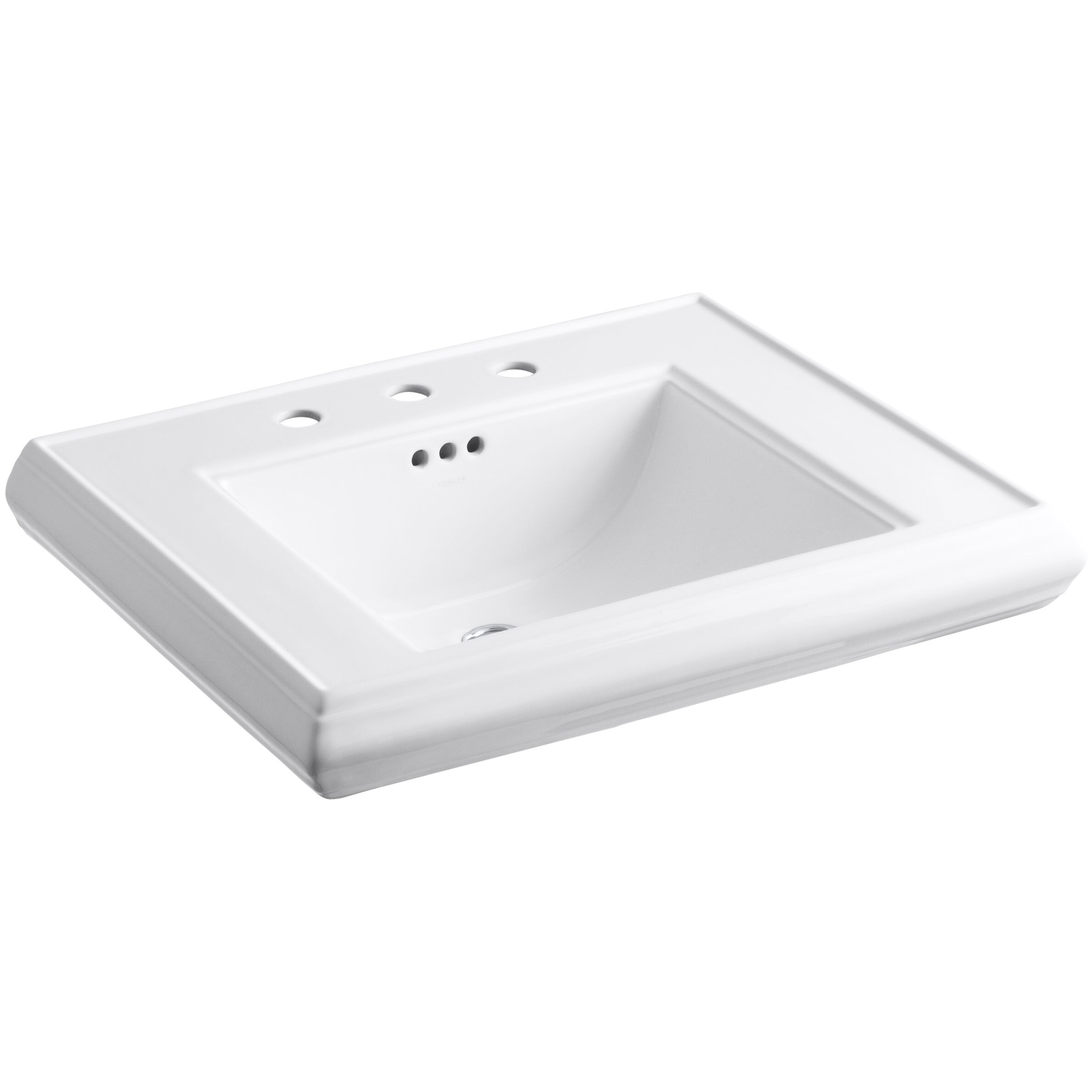 Kohler Memoirs Pedestal Bathroom Sink Basin Reviews