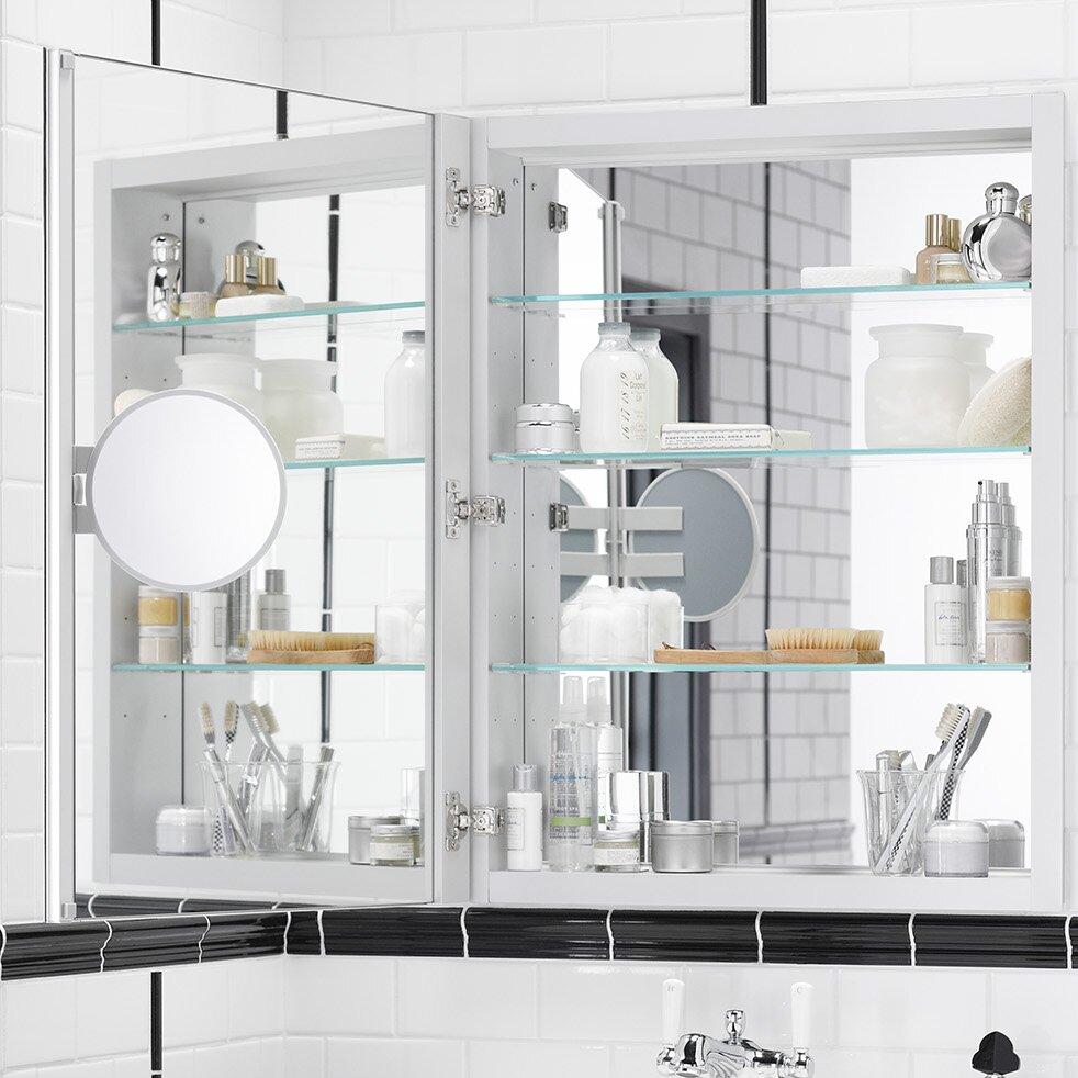 30 X 30 Medicine Cabinet Kohler Verdera 24 W X 30 H Medicine Cabinet With Adjustable