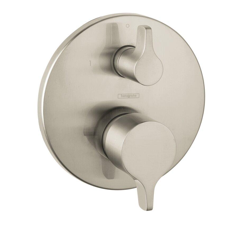 hansgrohe hg metris e pressure balance diverter faucet trim hansgrohe hg metris e pressure balance diverter faucet trim lever handle