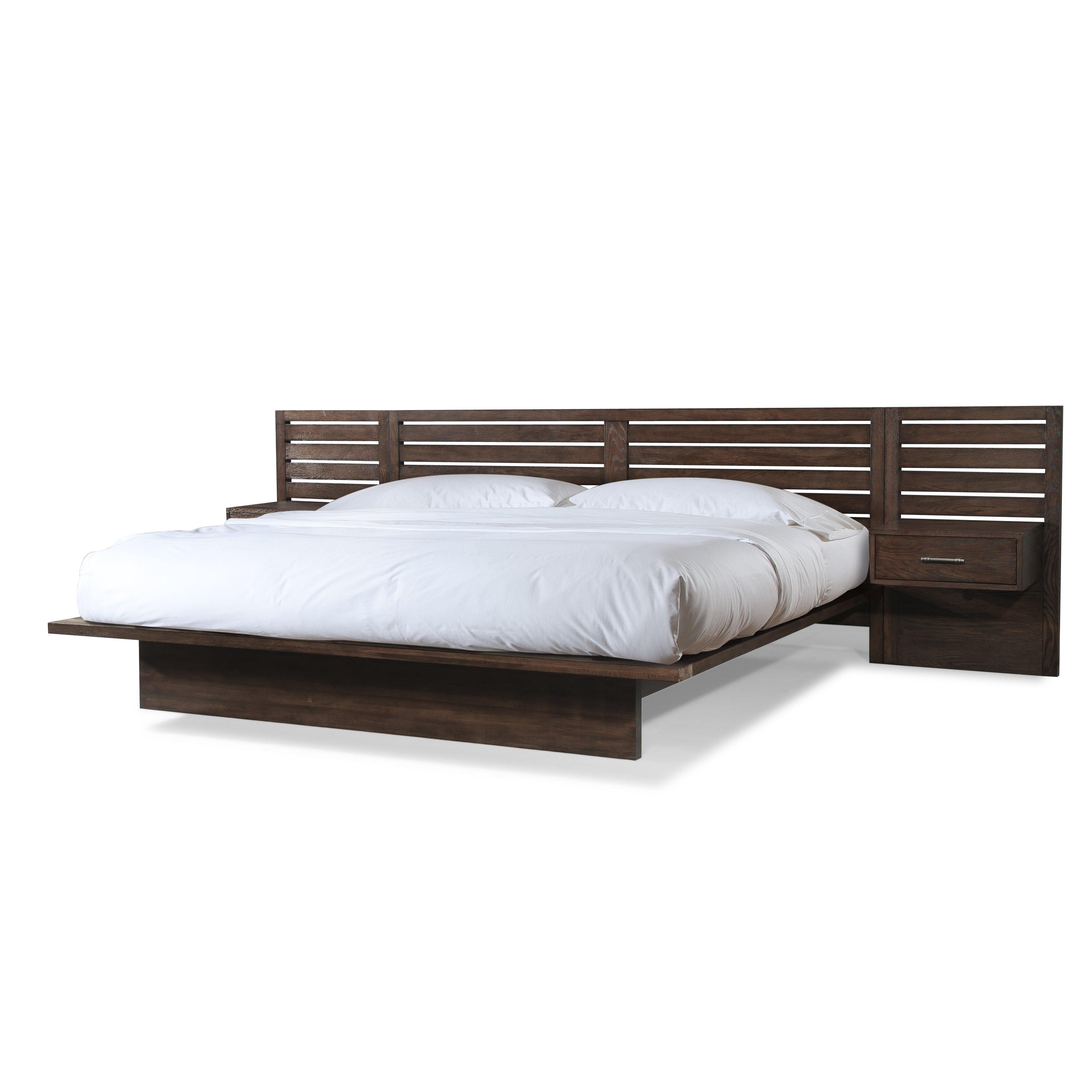 Platform Bedroom Furniture Cresent Furniture Hudson Platform Bed Reviews Wayfair