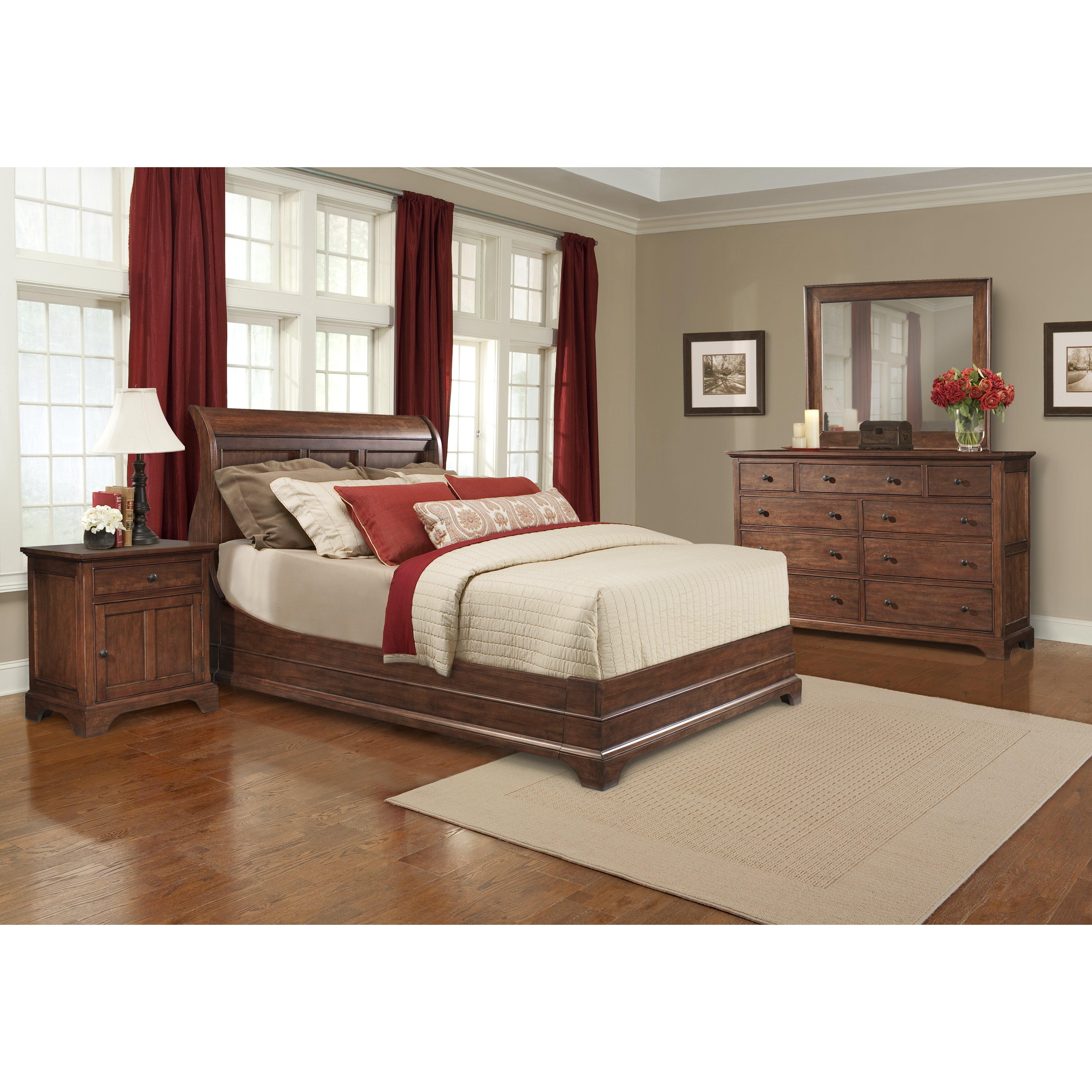 Cresent Furniture Retreat Cherry 9 Drawer Dresser Reviews Wayfair