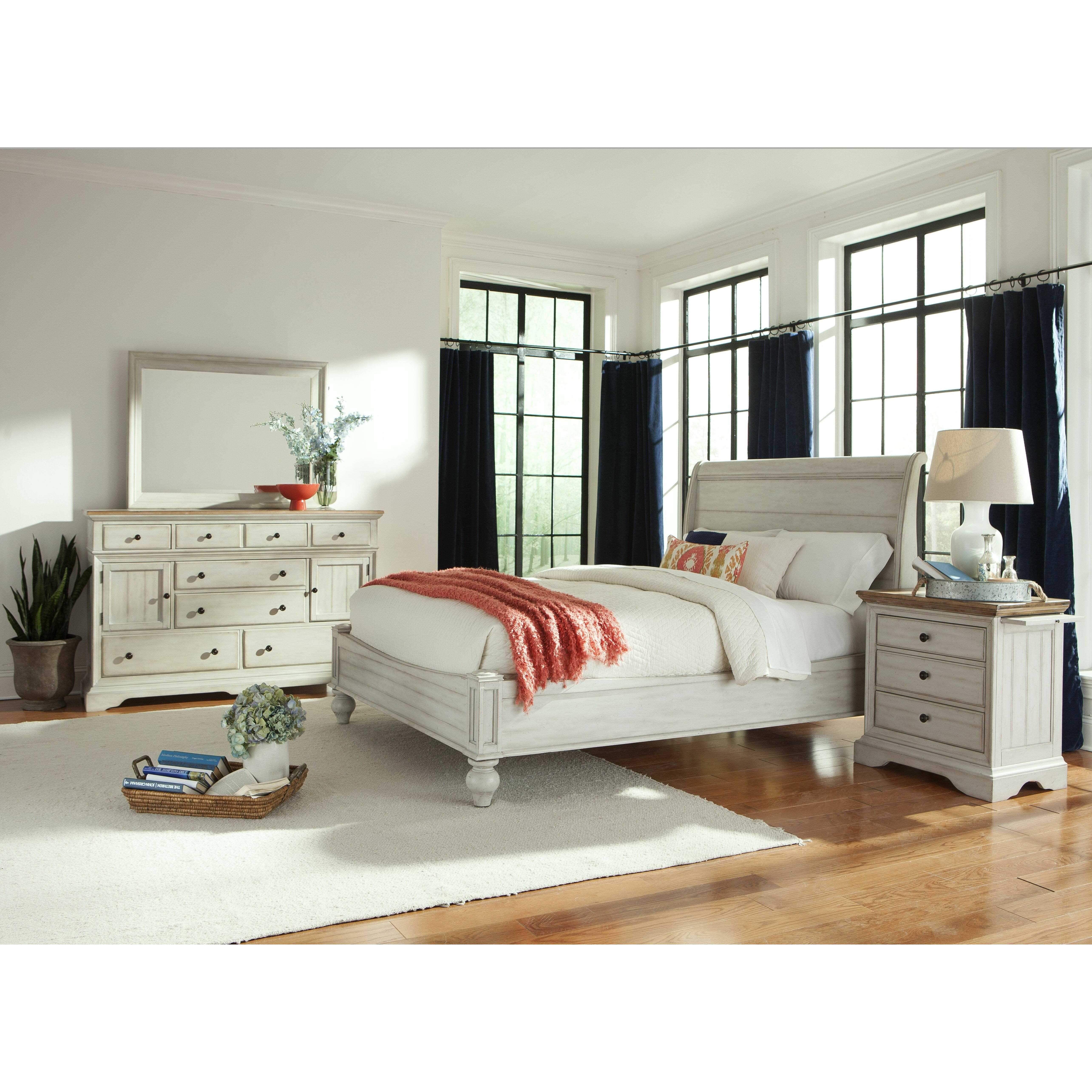 Cresent Furniture Cottage Panel Customizable Bedroom Set Reviews Wayfair