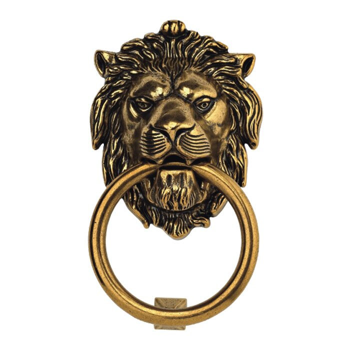 Bosetti Marella Lion Door Knocker Amp Reviews Wayfair
