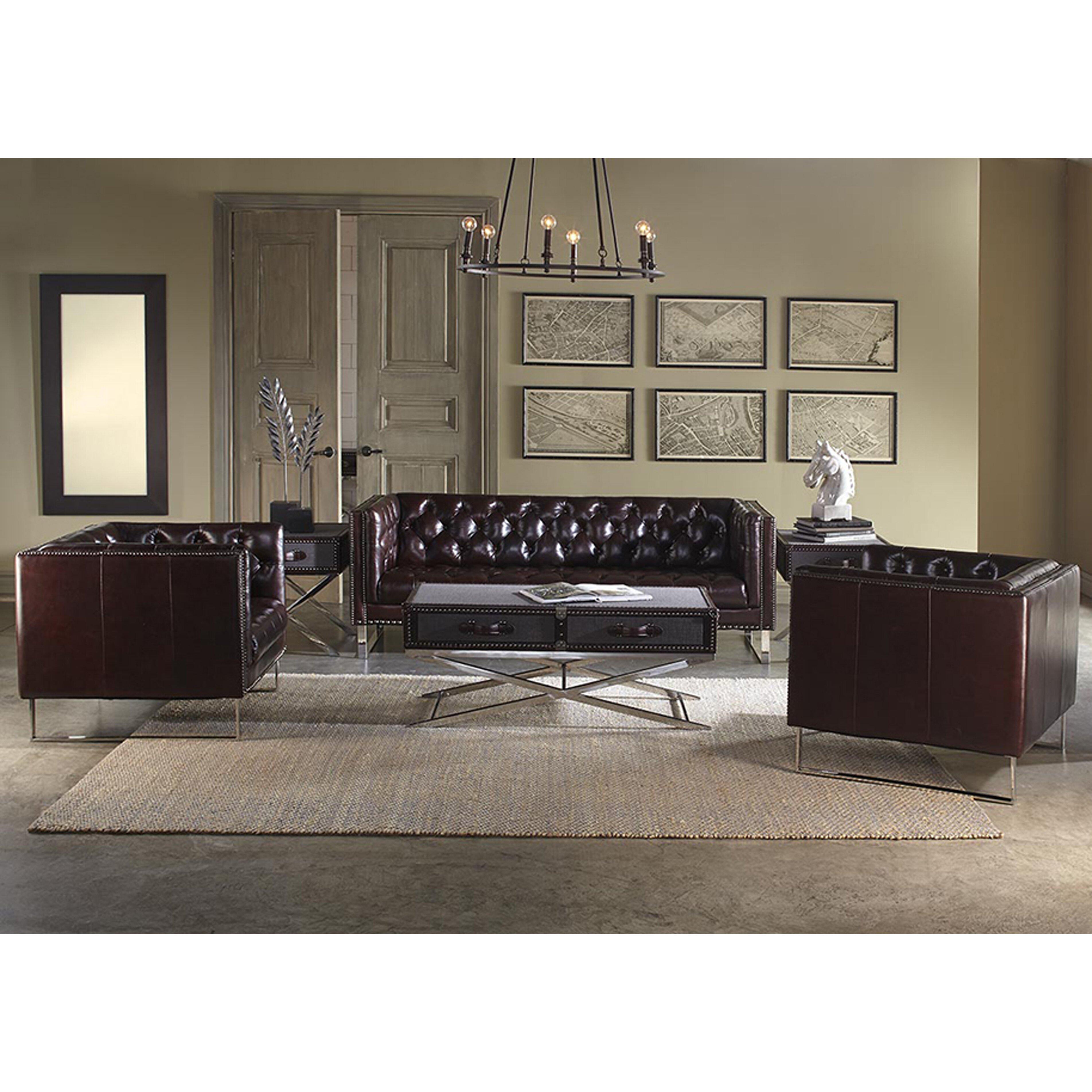 Wayfair Living Room Furniture Lazzaro Leather Bordeaux Living Room Collection Reviews Wayfair