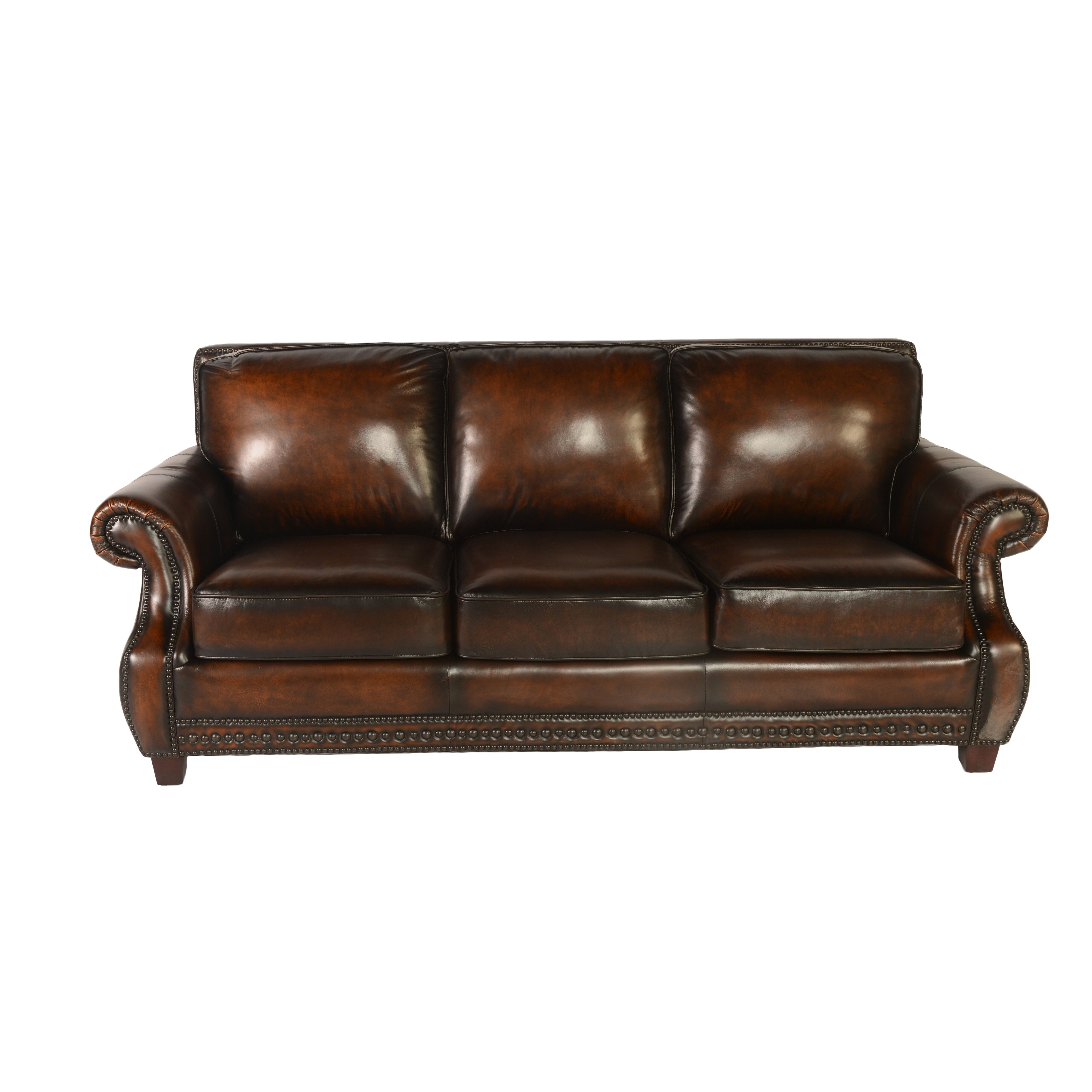 Leather Living Room Lazzaro Leather Living Room Collection Reviews Wayfair
