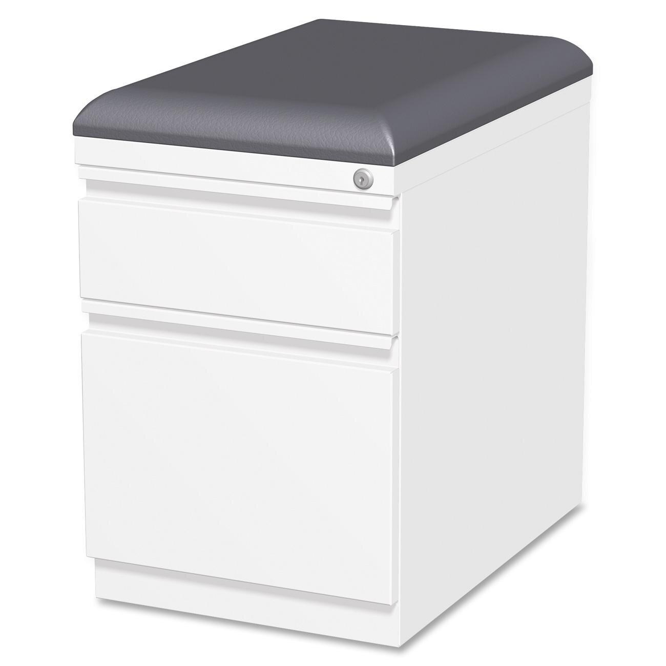 Lorell Lateral File Cabinet Lorell Cushion Seat Storage Mobile Pedestal File Reviews Wayfair