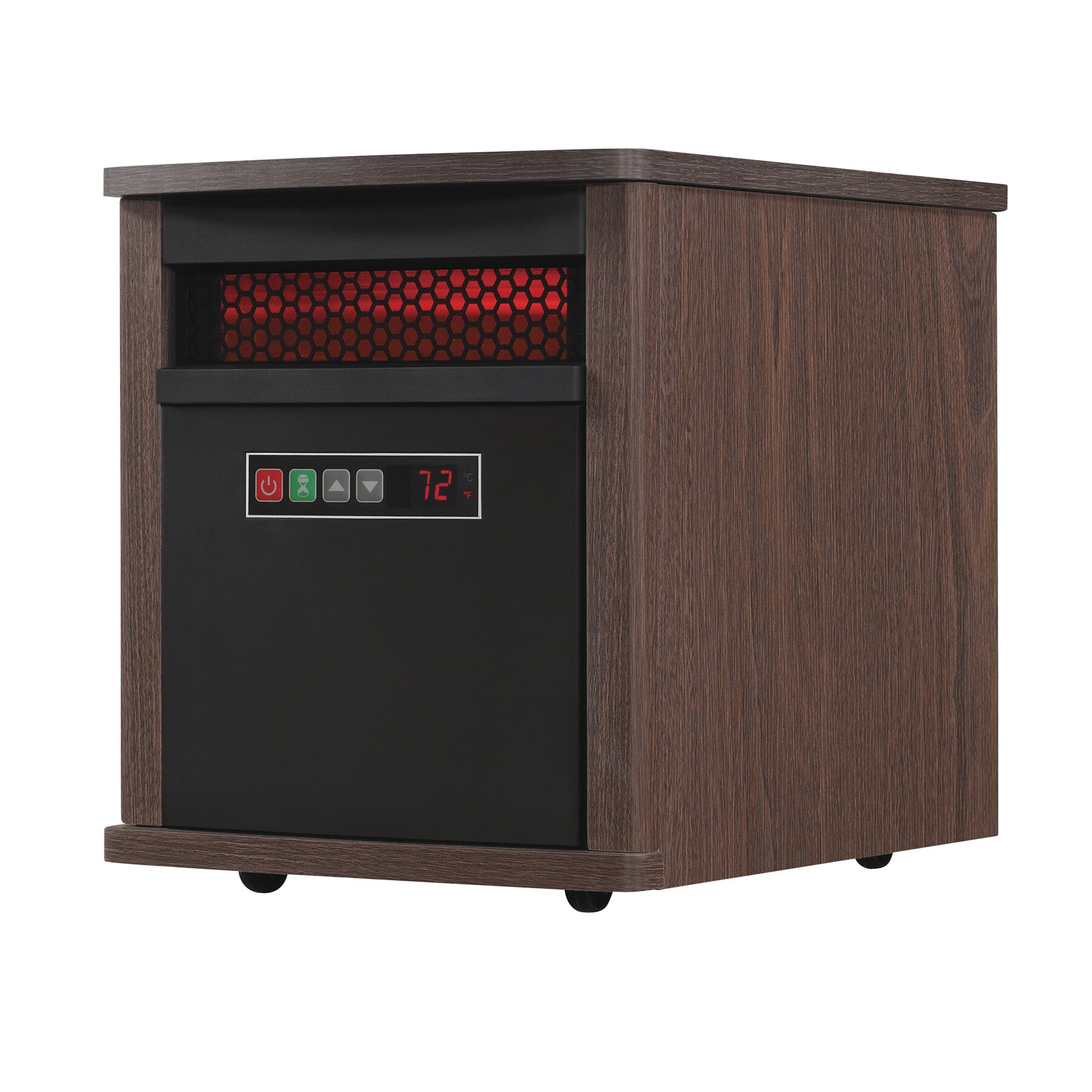 space heaters you ll love wayfair 5 200 btu portable electric infrared cabinet heater