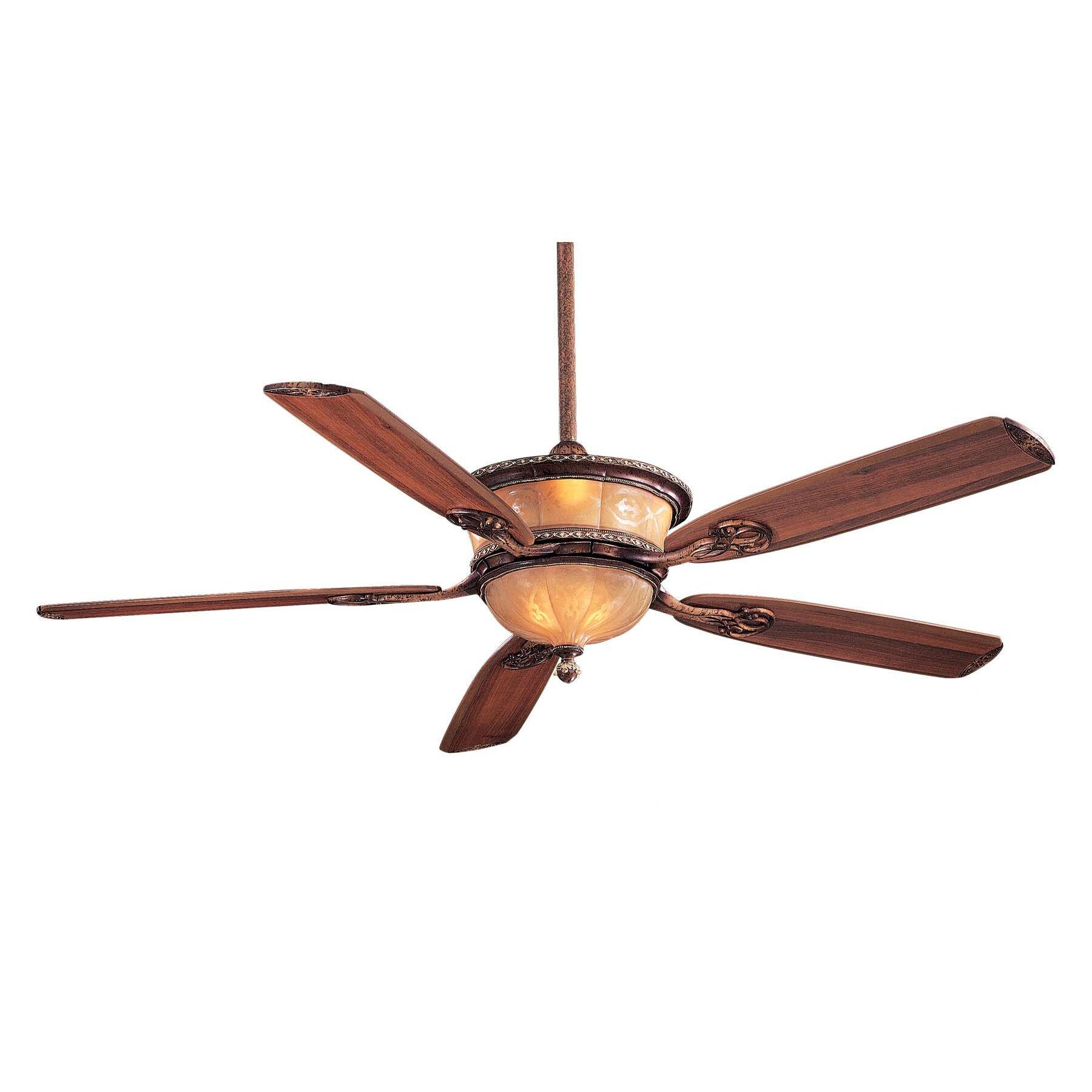"""Ceiling Fan 60: Minka Aire 60"""" Hearst Castle Santa Lucia 5 Blade Ceiling Fan,Lighting"""