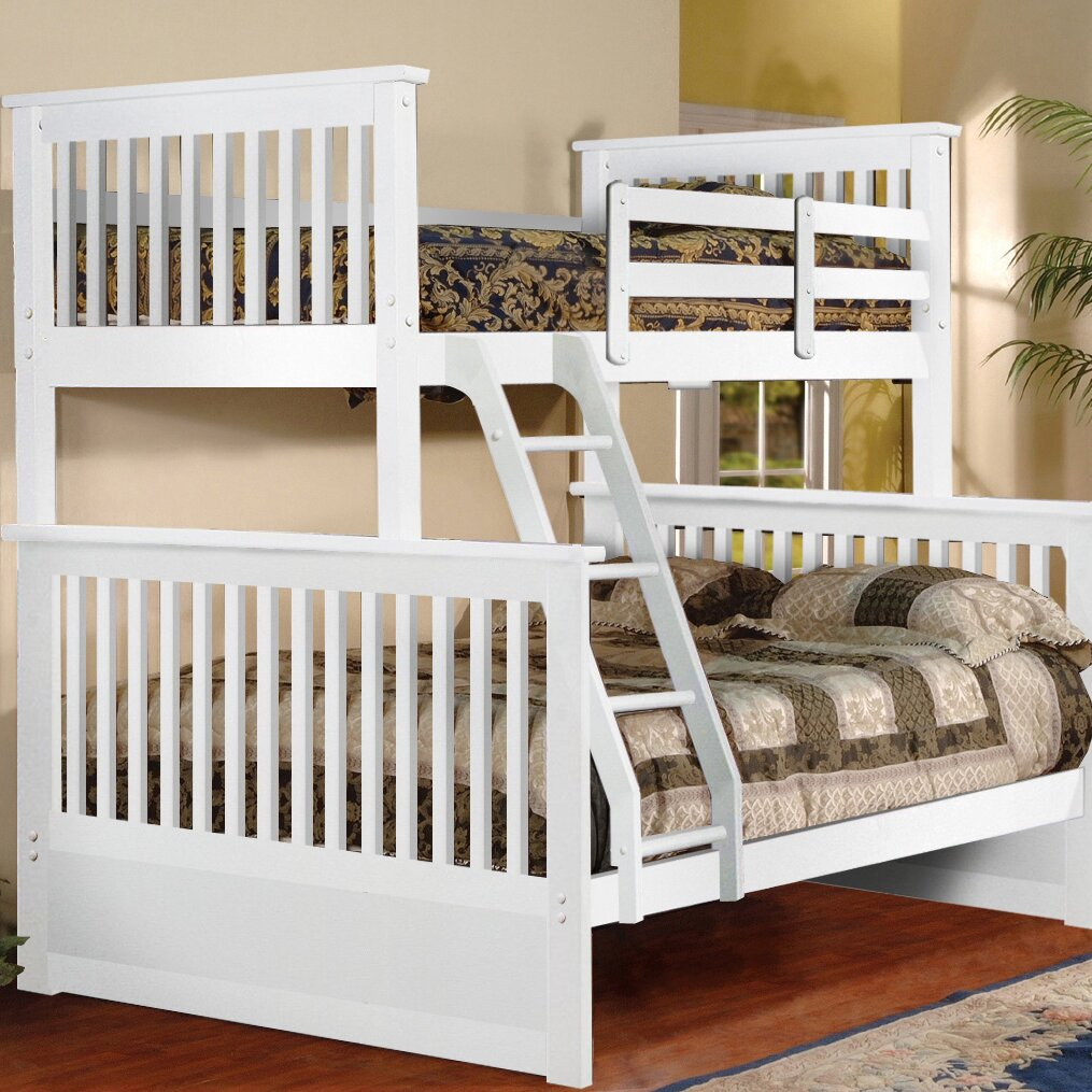 twin over full l shaped bunk bed by inroom designs