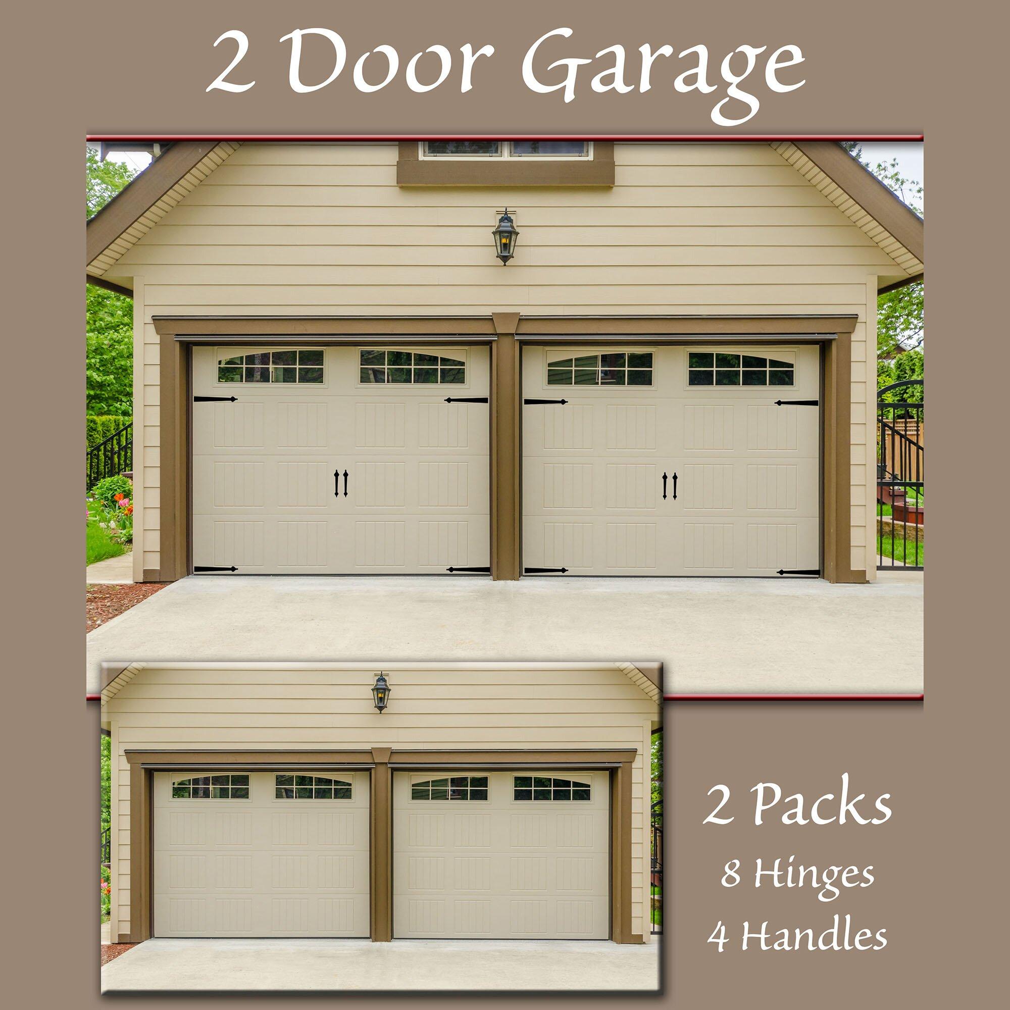Decorative Garage Door Hinge Set