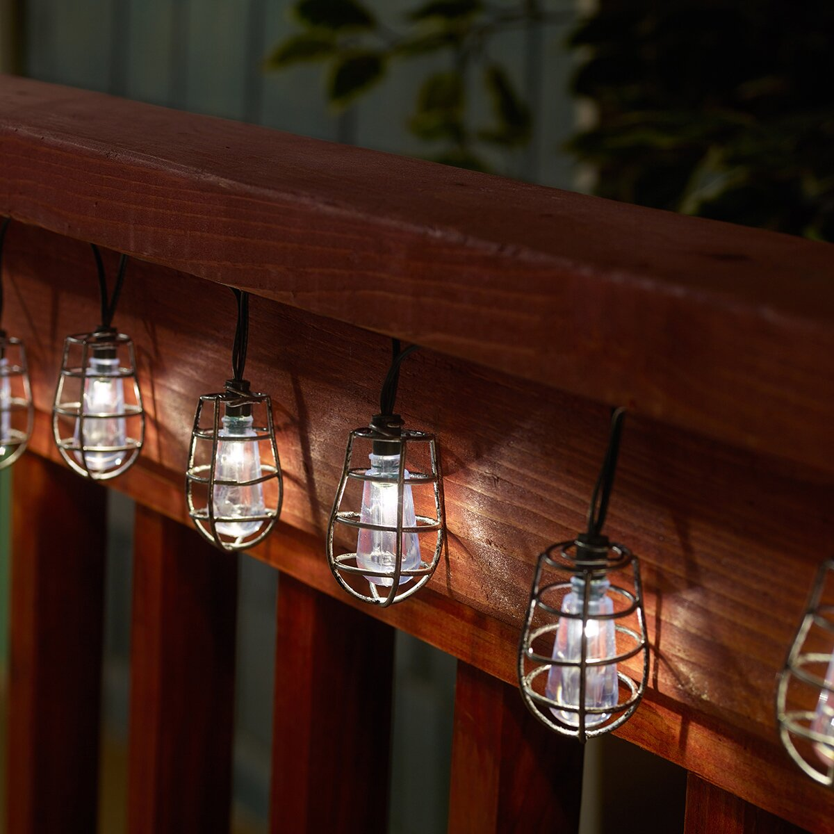 Square Lantern String Lights : Smart Solar Solar 20-Light Lantern String Lights & Reviews Wayfair