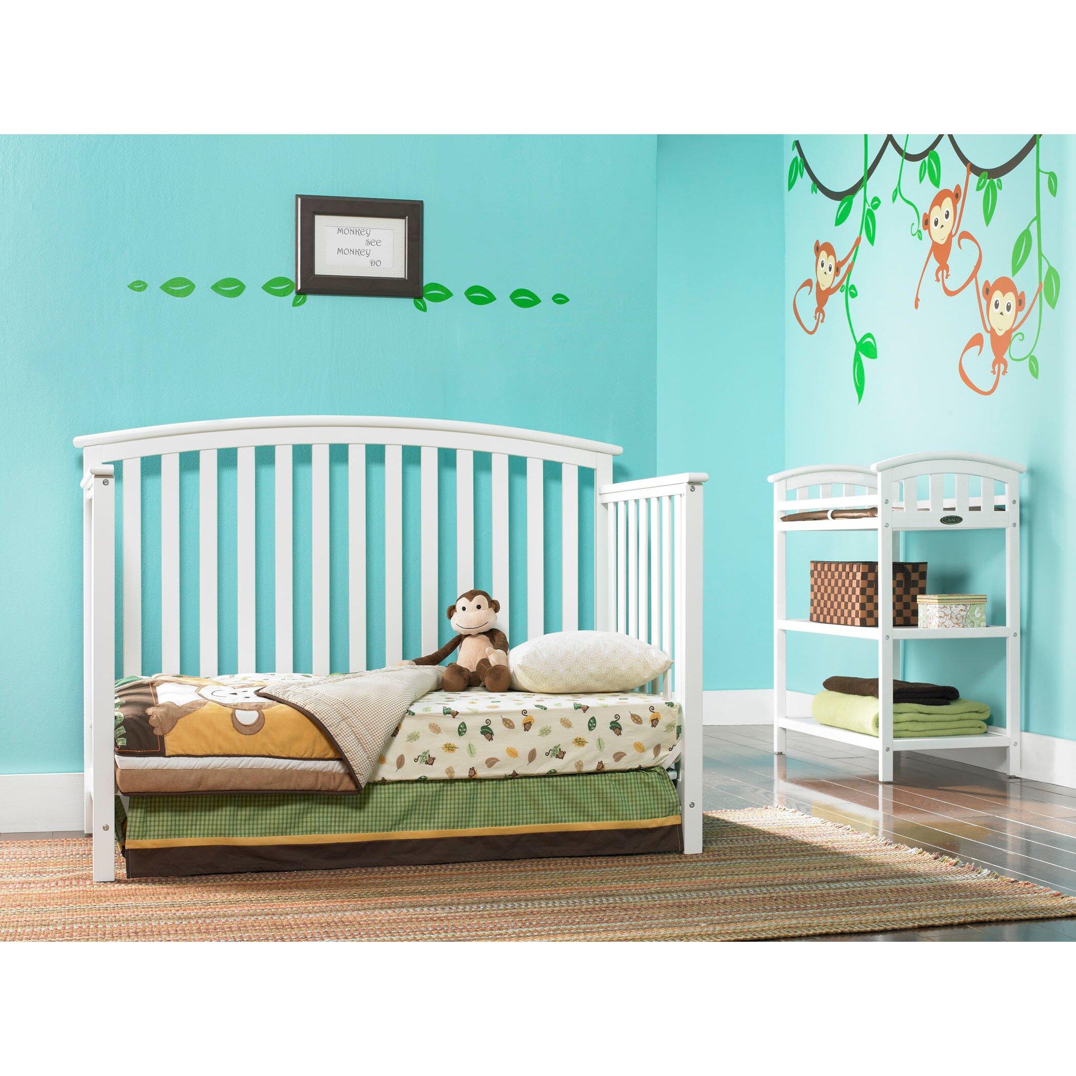 Graco Freeport 4 In 1 Convertible Crib Amp Reviews Wayfair