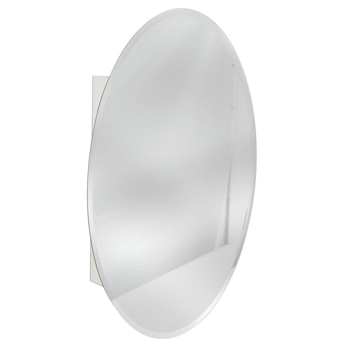 Oval Mirror Medicine Cabinet Zenith 21 X 32 Surface Mount Medicine Cabinet Reviews Wayfair