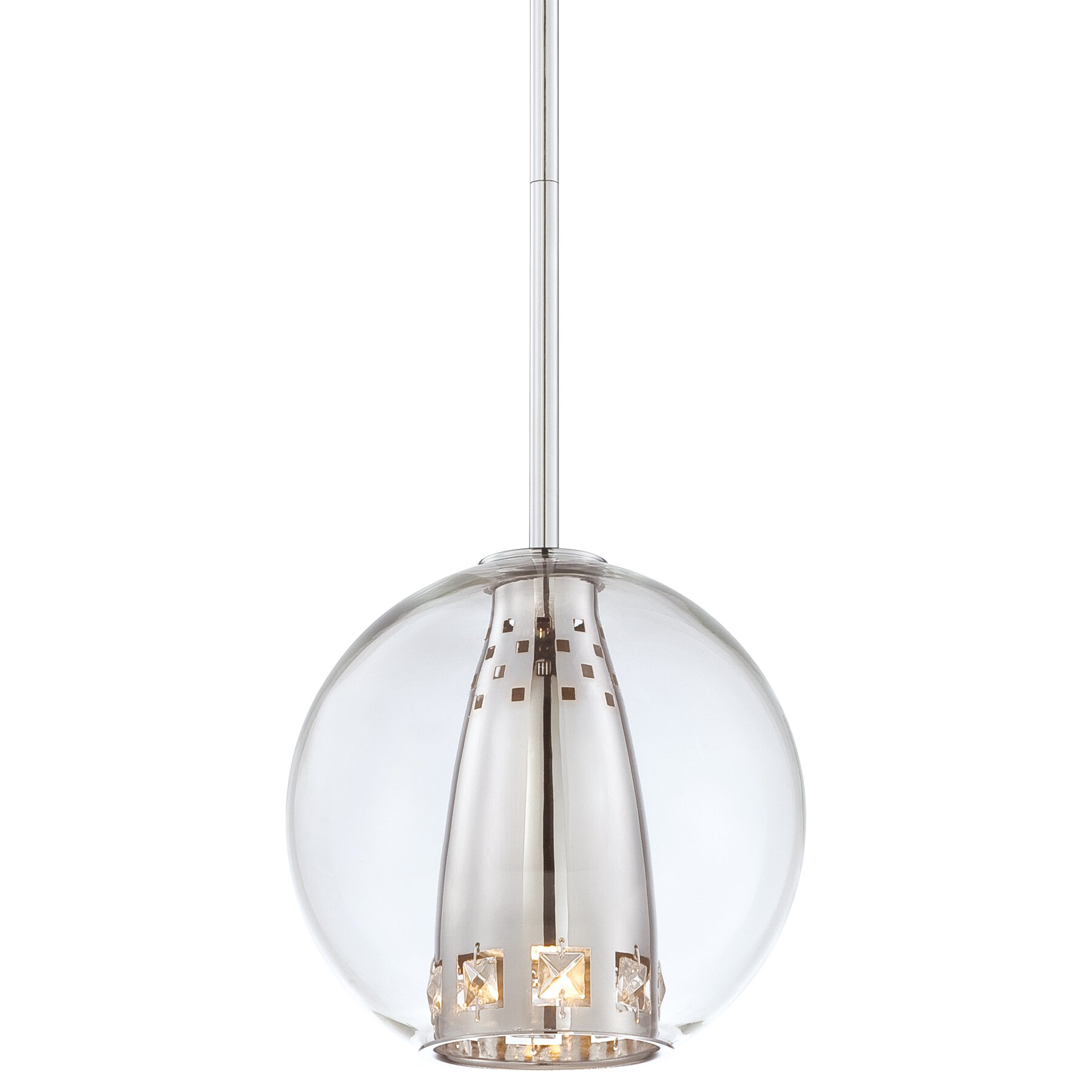 george kovacs  dancedrummingcom - george kovacs by minka bling bang  light globe mini pendant george kovacsbling bang