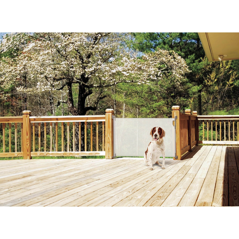 Dreambaby Indoor Outdoor Retractable Gate Amp Reviews Wayfair