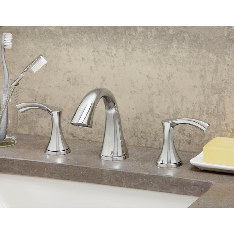 Widespread Bathroom Faucet Clearance : ... Handle Mini Widespread Bathroom Faucet & Reviews Wayfair Supply