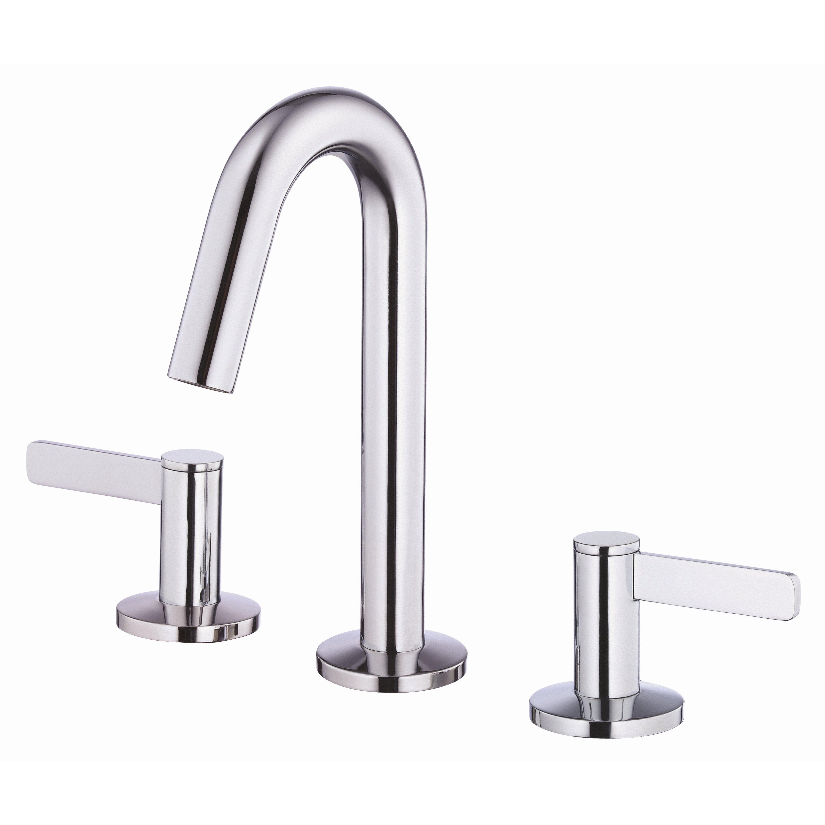 Danze Kitchen Faucets Reviews Danze Amalfi Double Handle Mini Widespread Bathroom Faucet