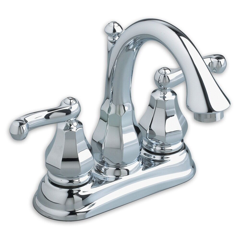 American Standard Dazzle Centerset Bathroom Faucet With Double Lever Handles Reviews Wayfair