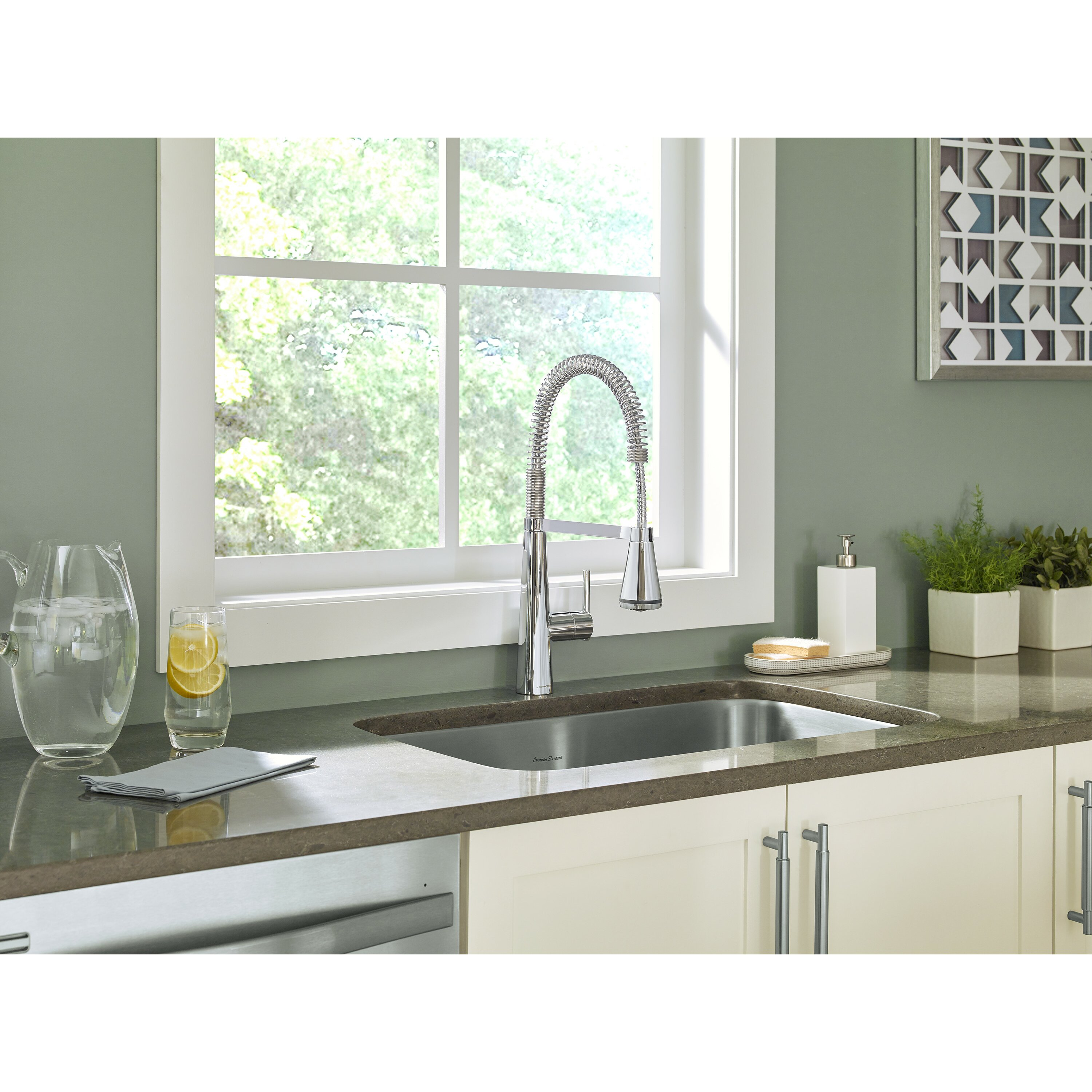 Professional Kitchen Faucet American Standard Edgewater Semi Professional Kitchen Faucet With