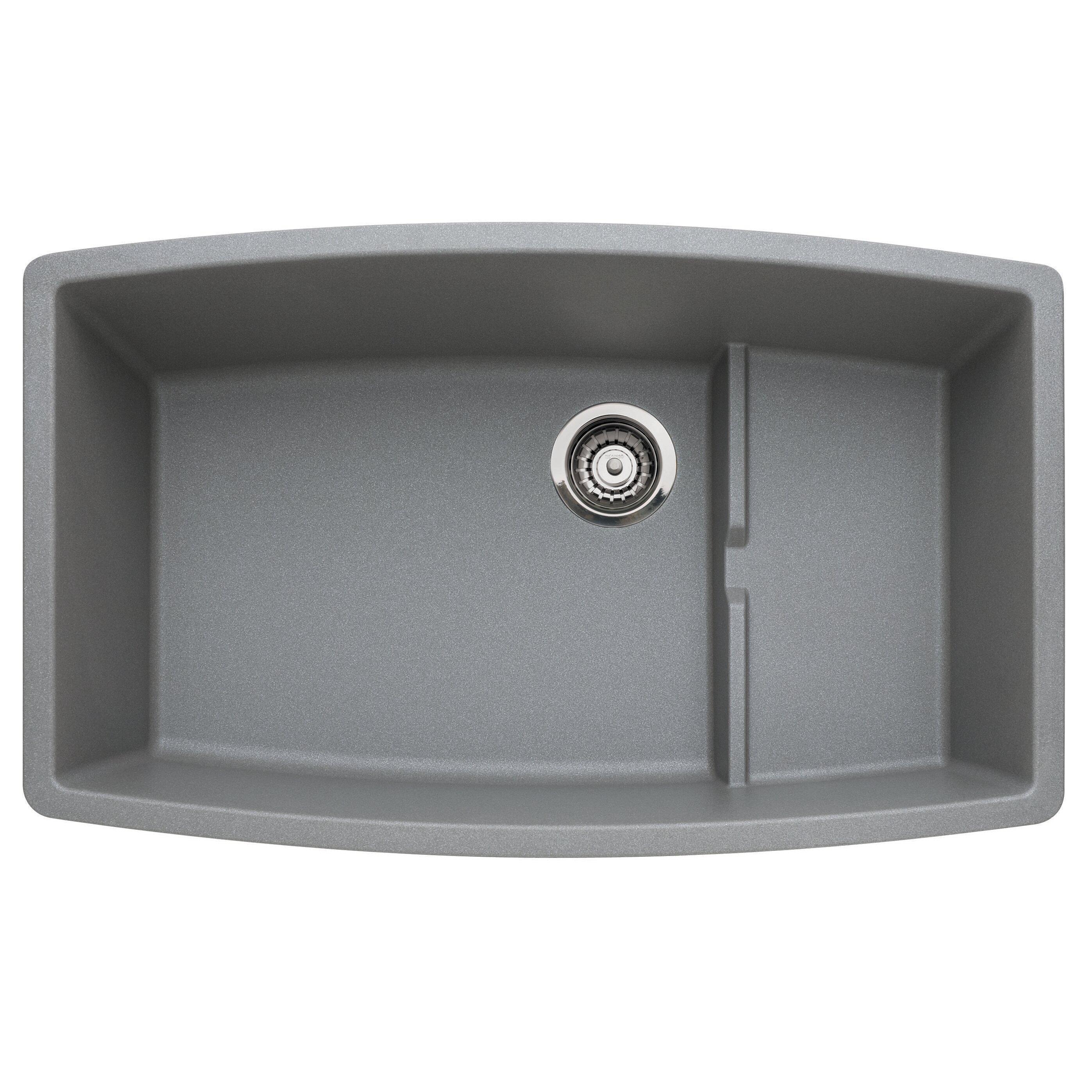 Blanco Kitchen Faucet Reviews Blanco Performa 32 X 195 Cascade Kitchen Sink Reviews Wayfair