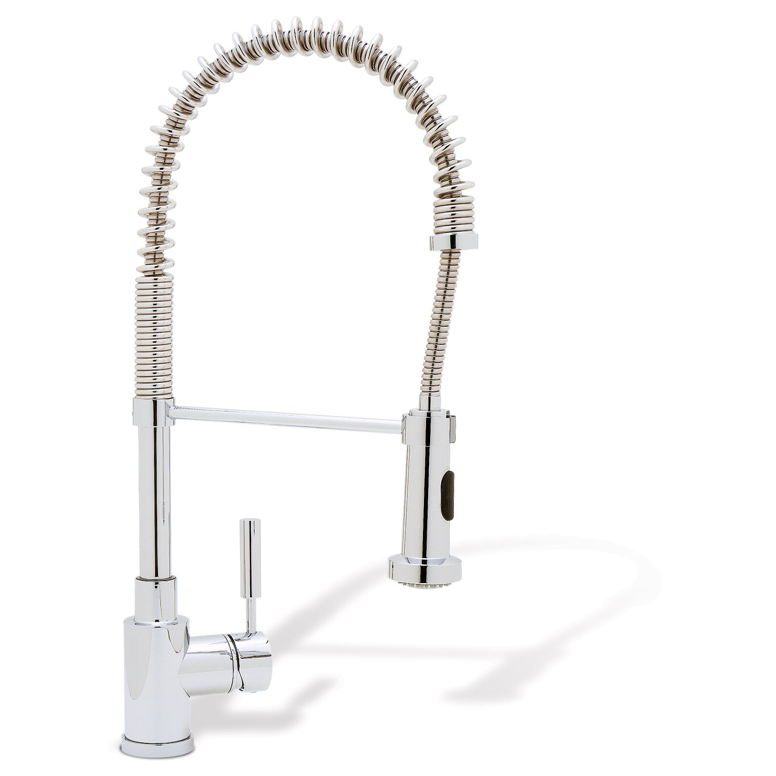 Kitchen Pull Down Faucet Blanco Meridian Single Handle Deck Mounted Kitchen Faucet With