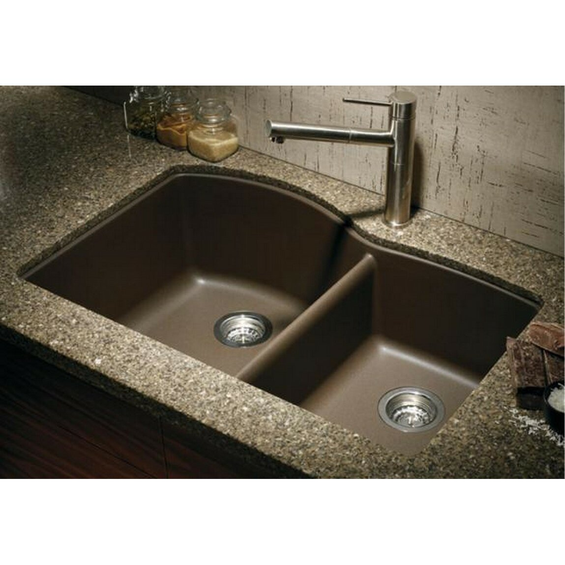 Blanco Granite Kitchen Sinks Blanco Diamond 32 X 19 Bowl Undermount Kitchen Sink Reviews